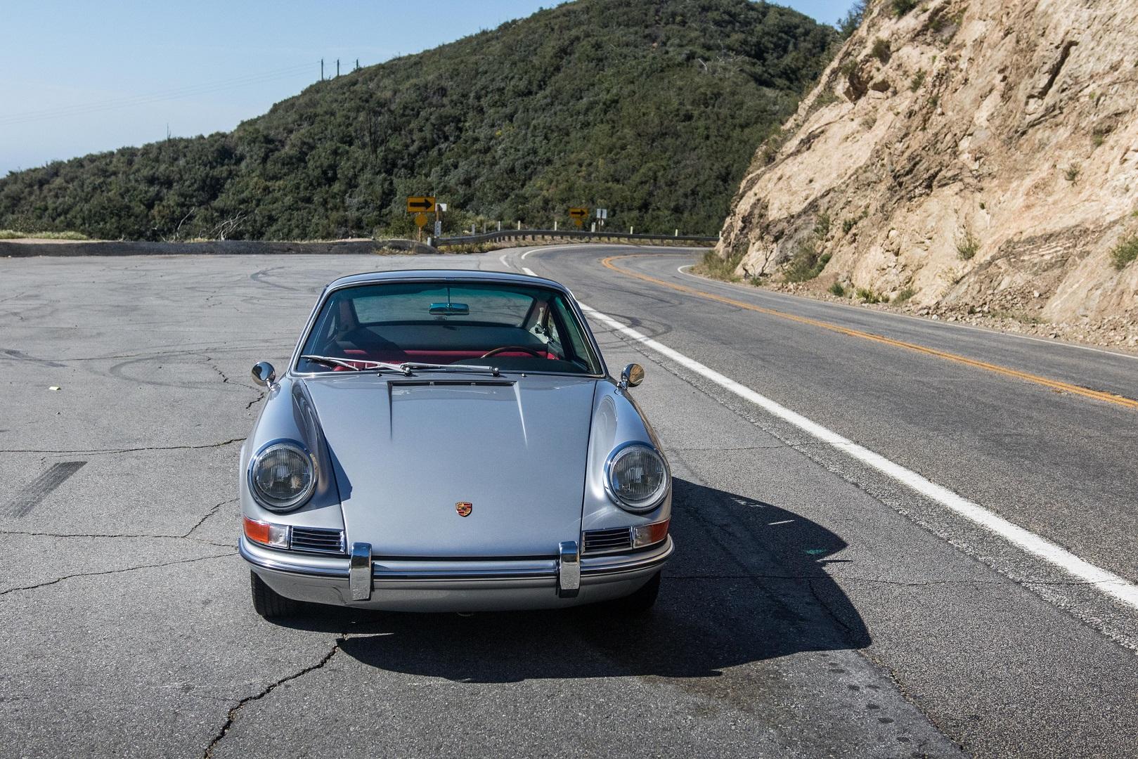 Electric Porsche 912 Front View