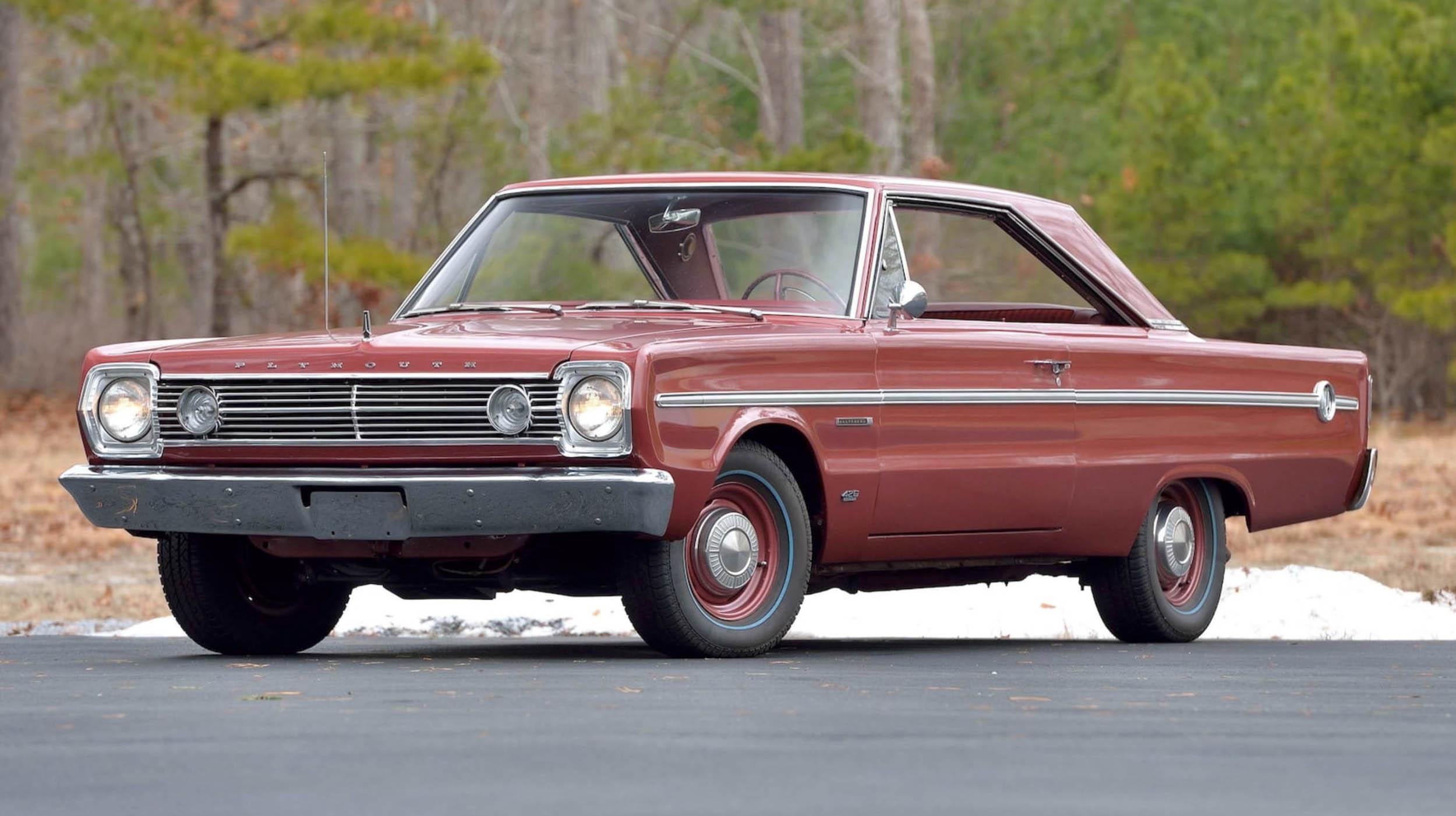 1966 Plymouth Belvedere Hardtop