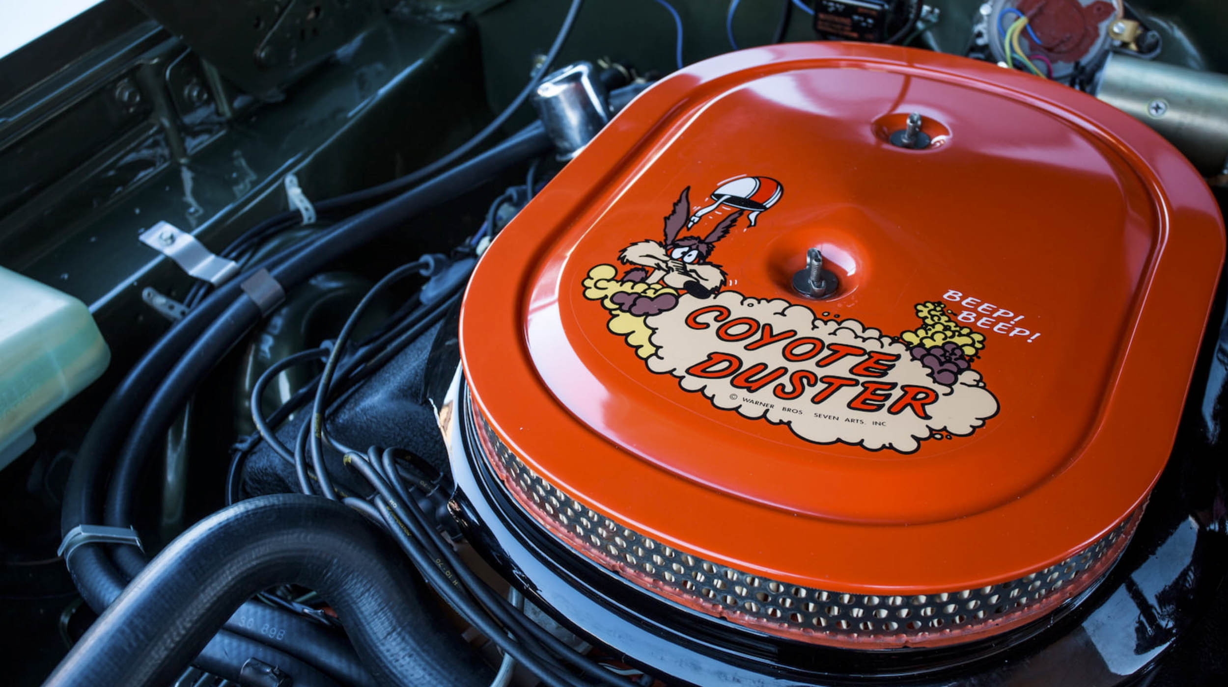 1969 Plymouth Road Runner Hemi Engine Coyote Duster