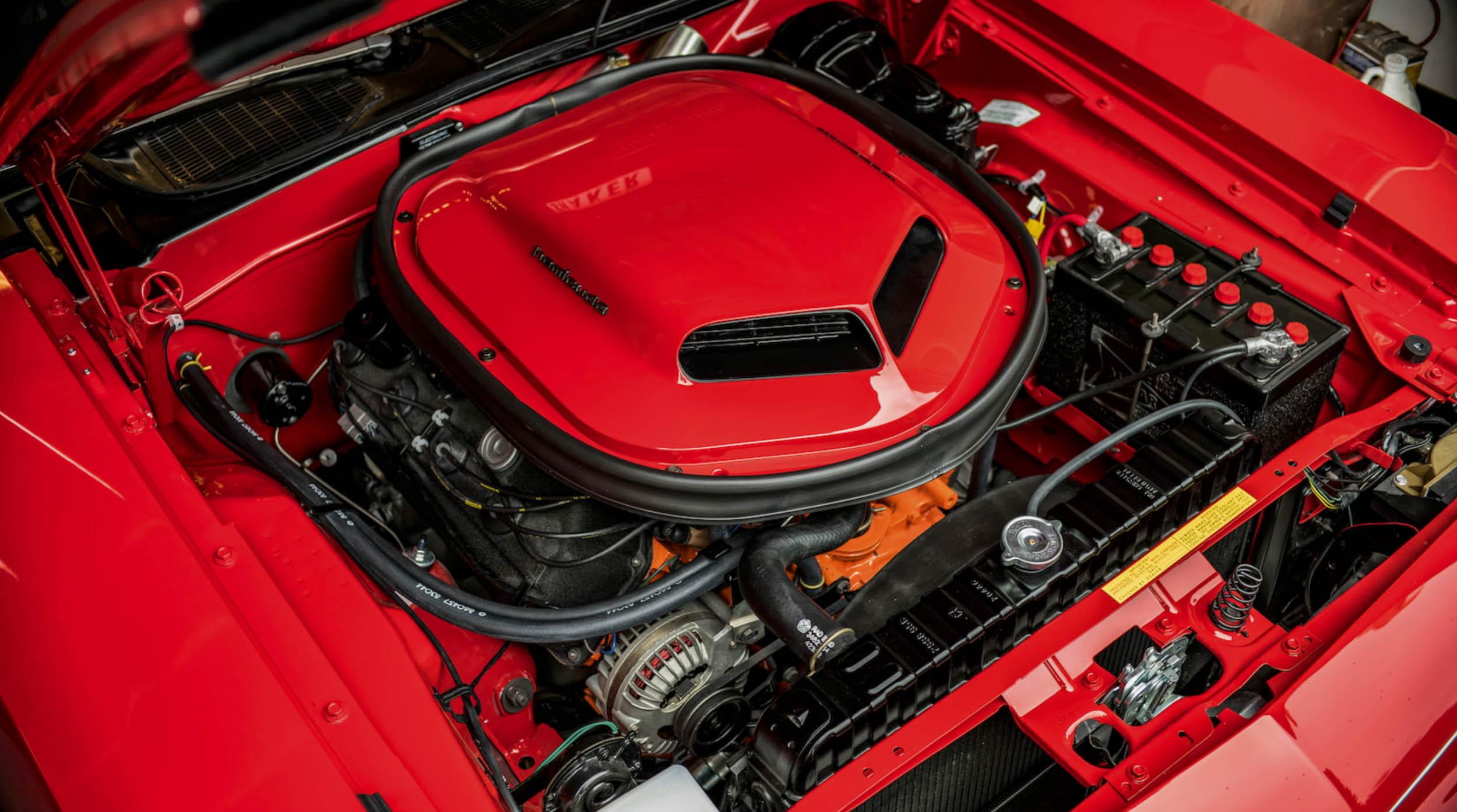 1970 Plymouth Cuda 426 Hemi Engine