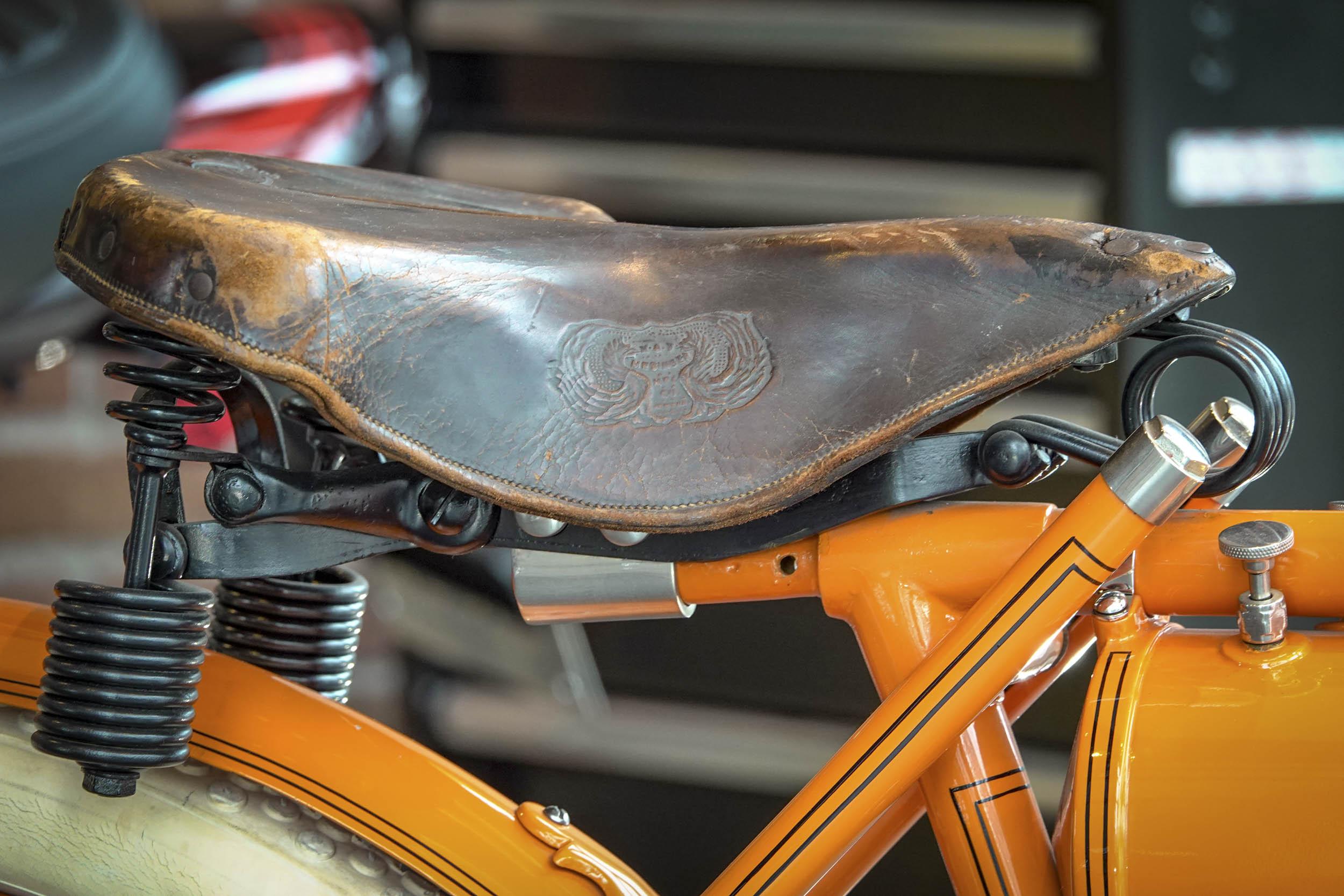 Flying Merkel motorcycle seat