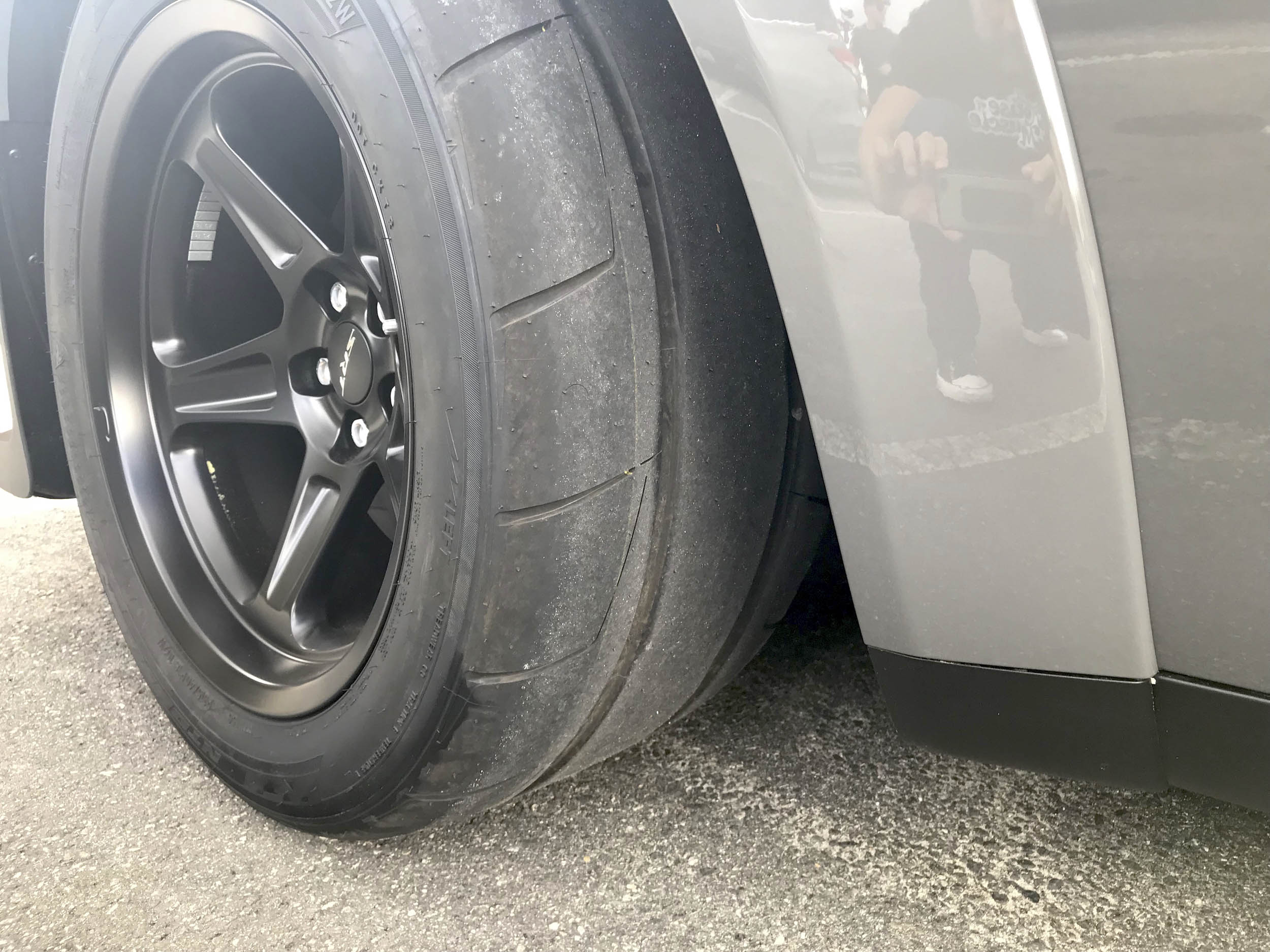 2018 Dodge Challenger SRT Demon tire