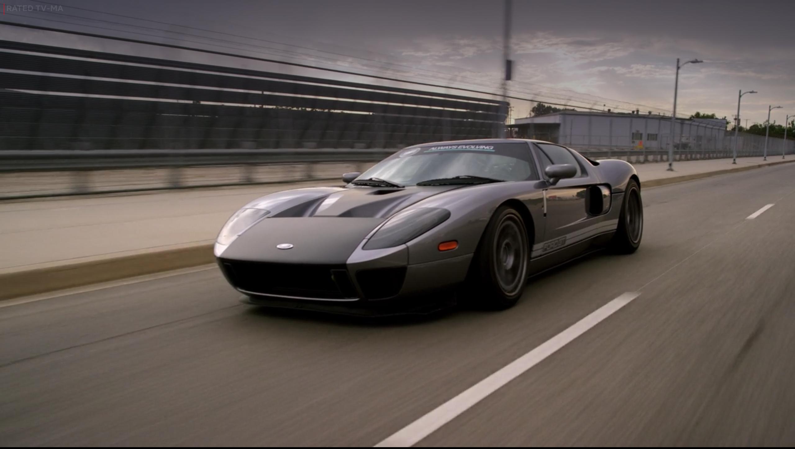 Netflix Fastest Car Ford GT Rolling 3/4
