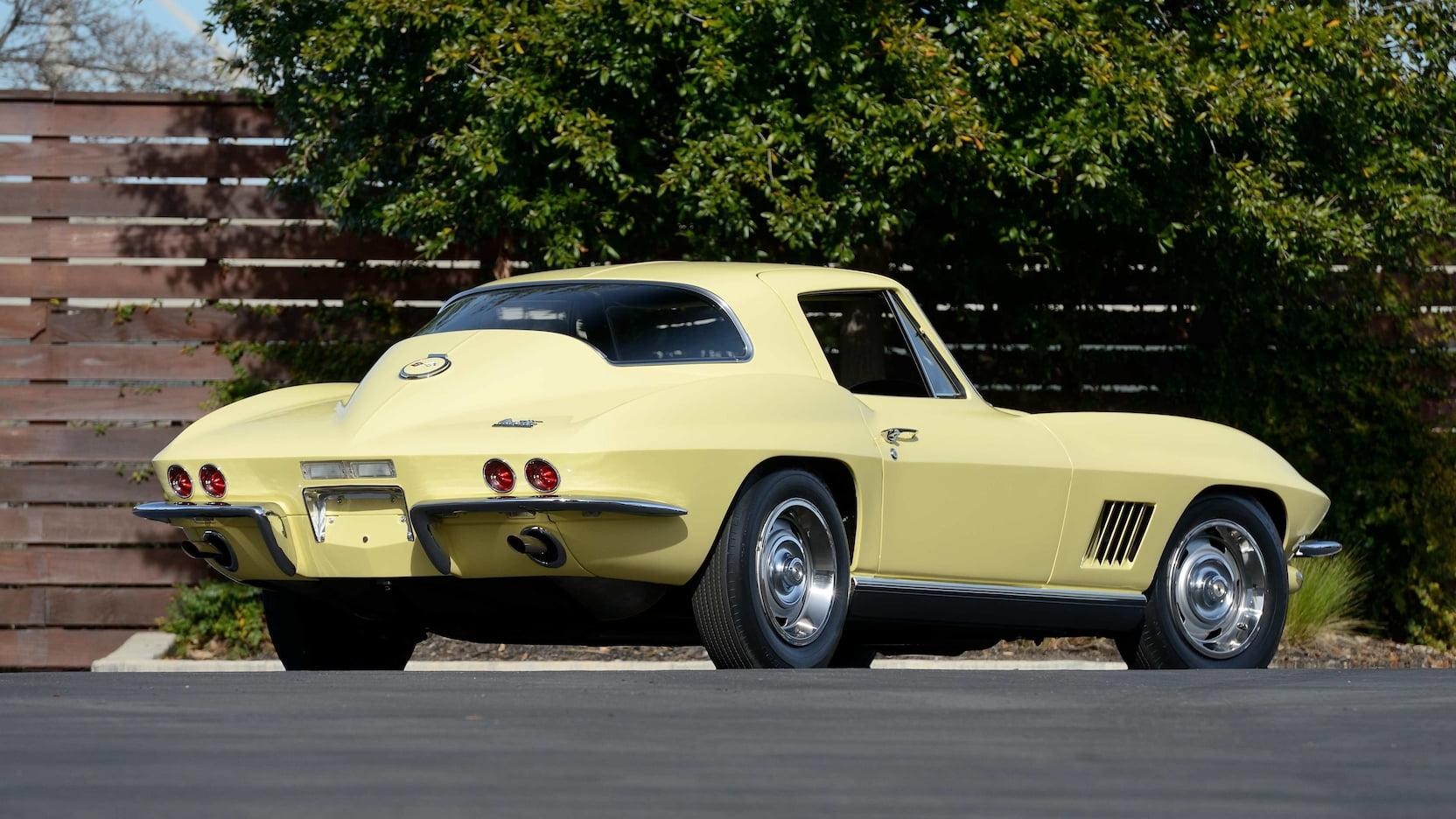 1967 Chevrolet Corvette L88 Rear 3/4
