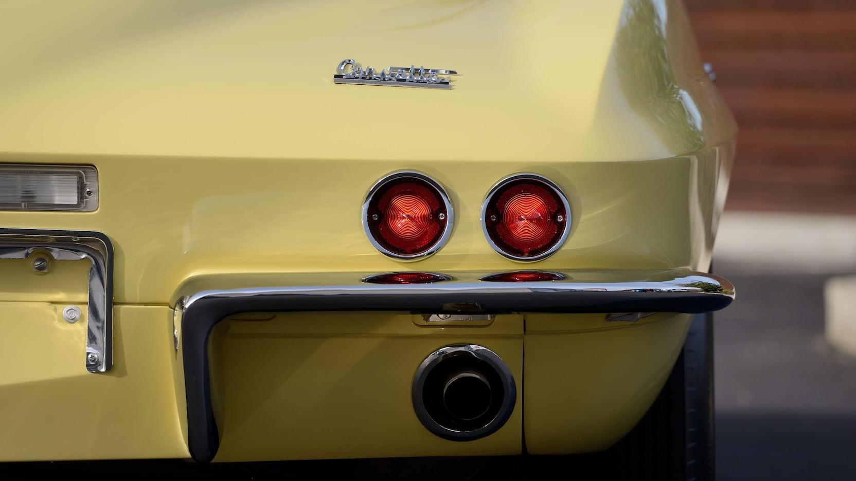 1967 Chevrolet Corvette L88 Taillights