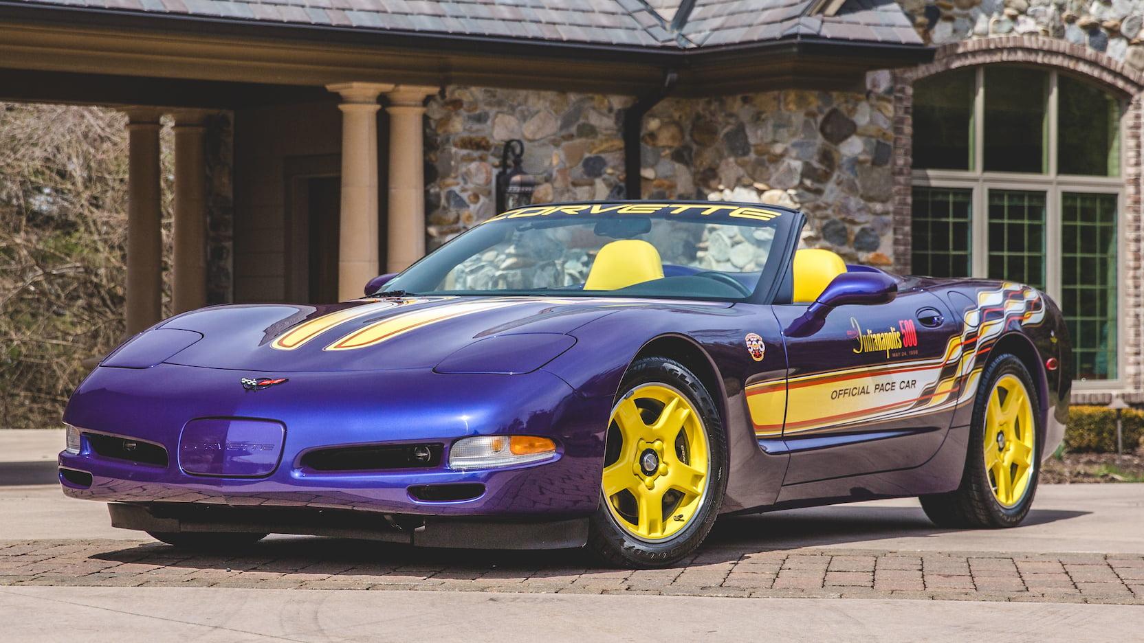 1998 Chevrolet Corvette Pace Car Edition Front 3/4