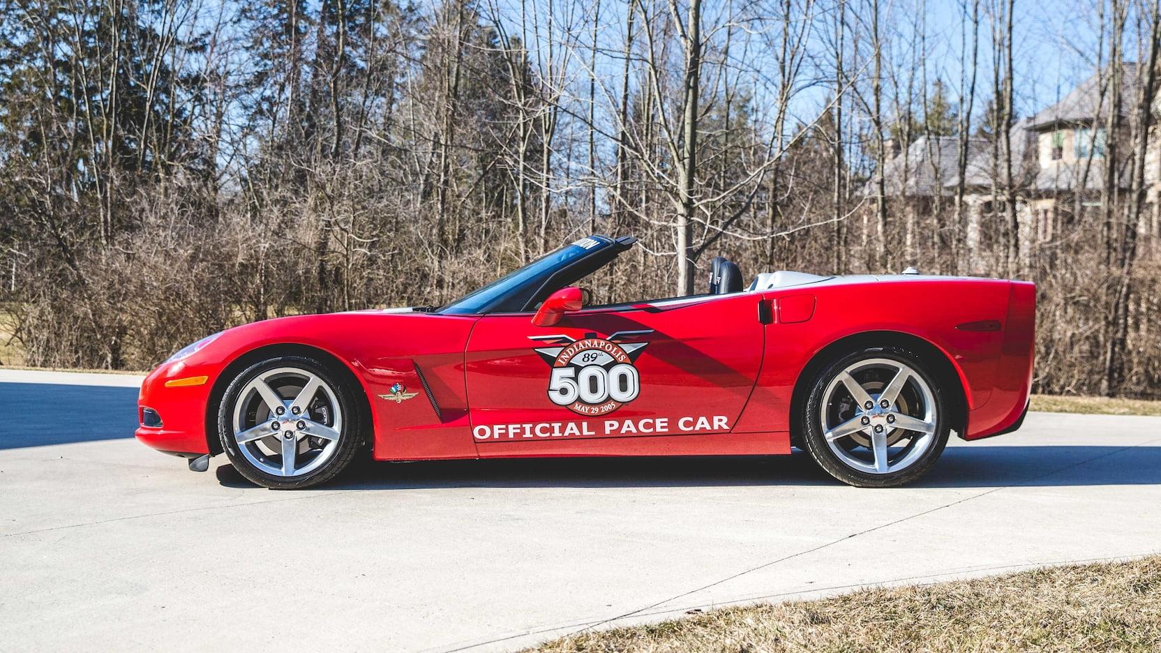 2005 Chevrolet Corvette Pace Car Side view