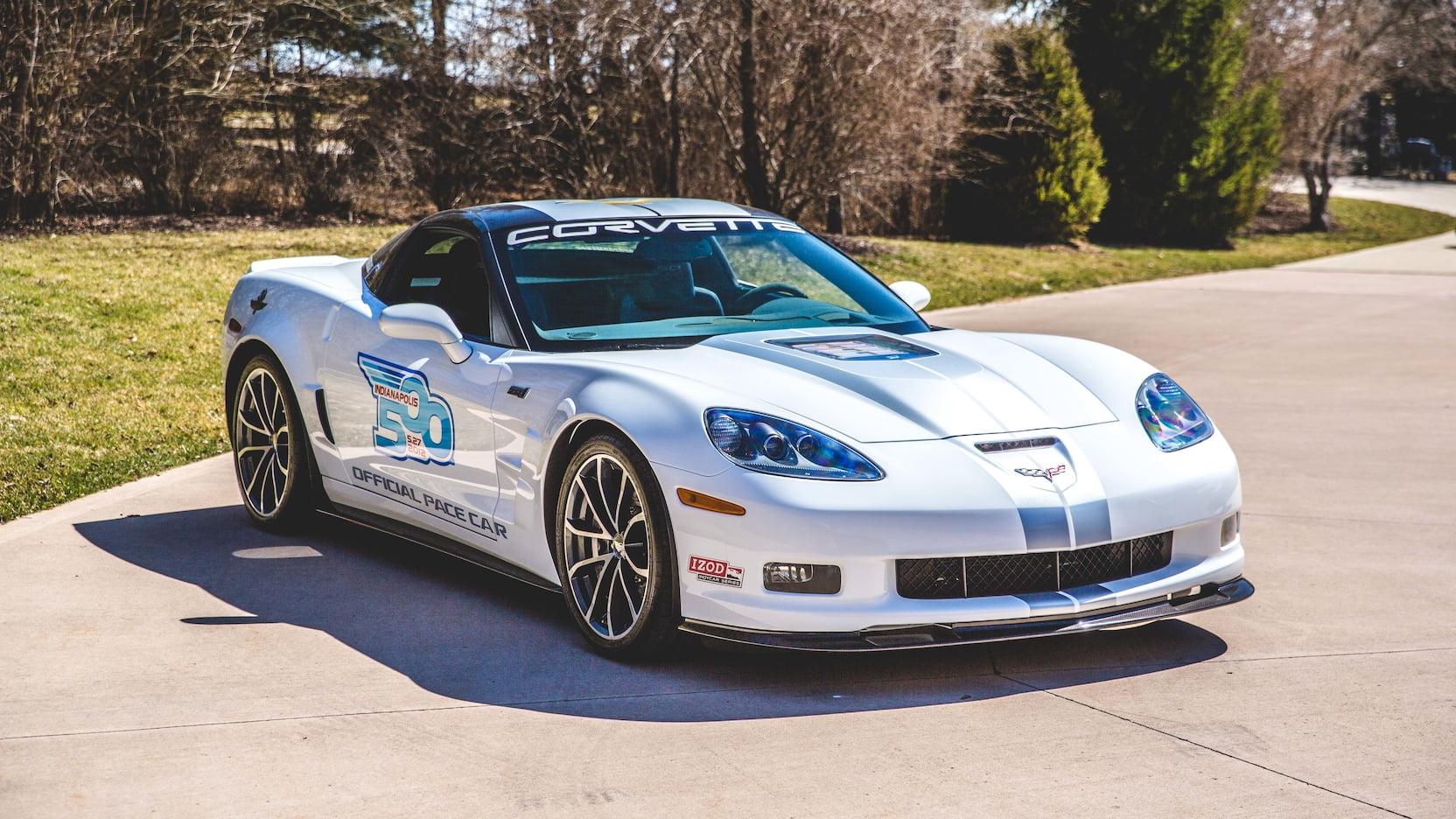 2013 Chevrolet Corvette ZR1 Pace Car Edition Front 3/4