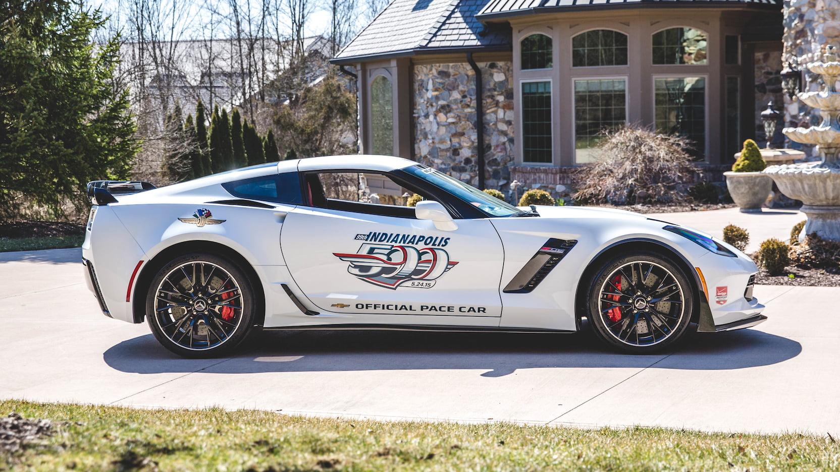 2015 Chevrolet Corvette Z06 Pace Car Edition Side