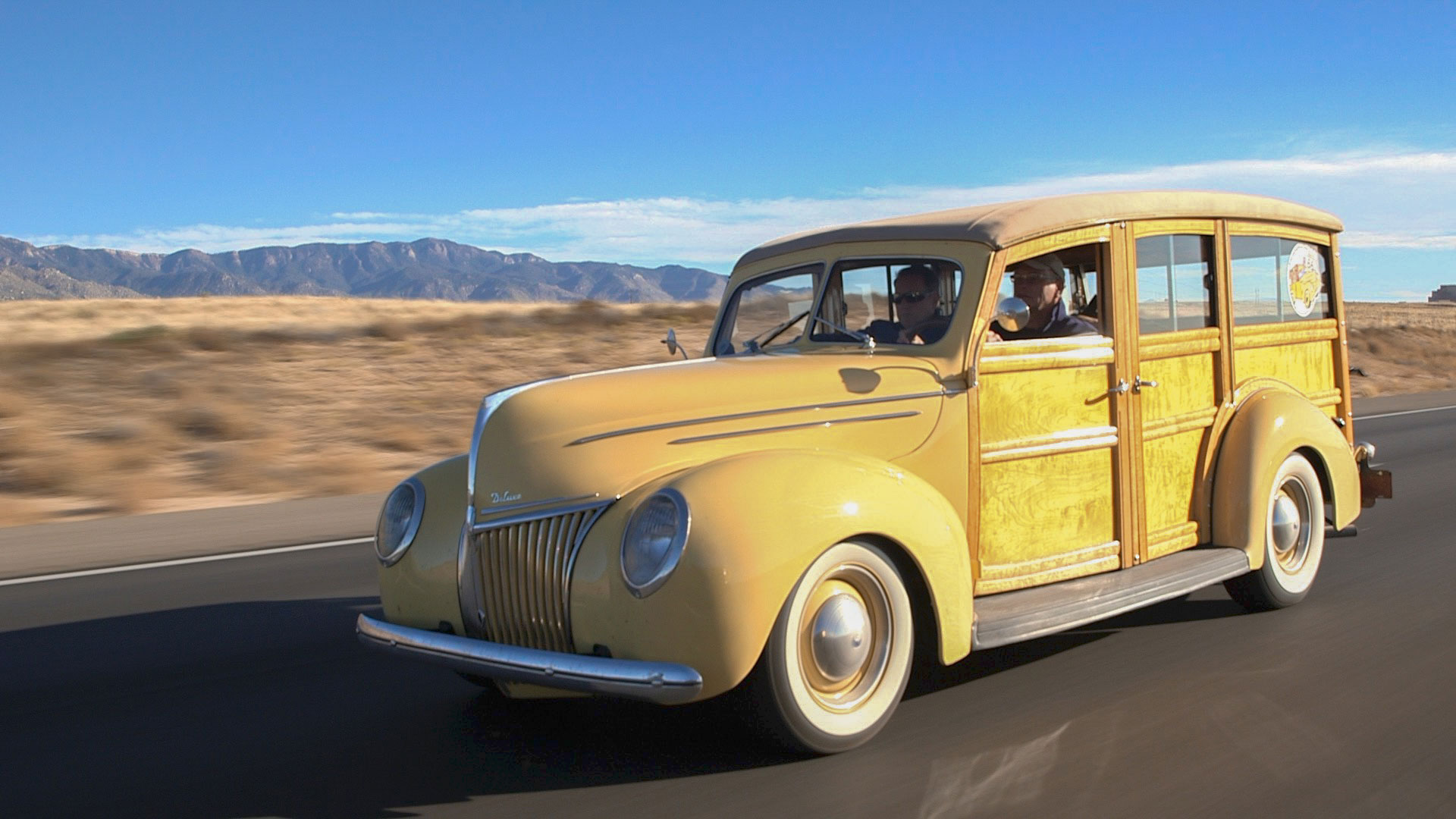 Tom Cotter's 1939 Ford Woodie Wagon
