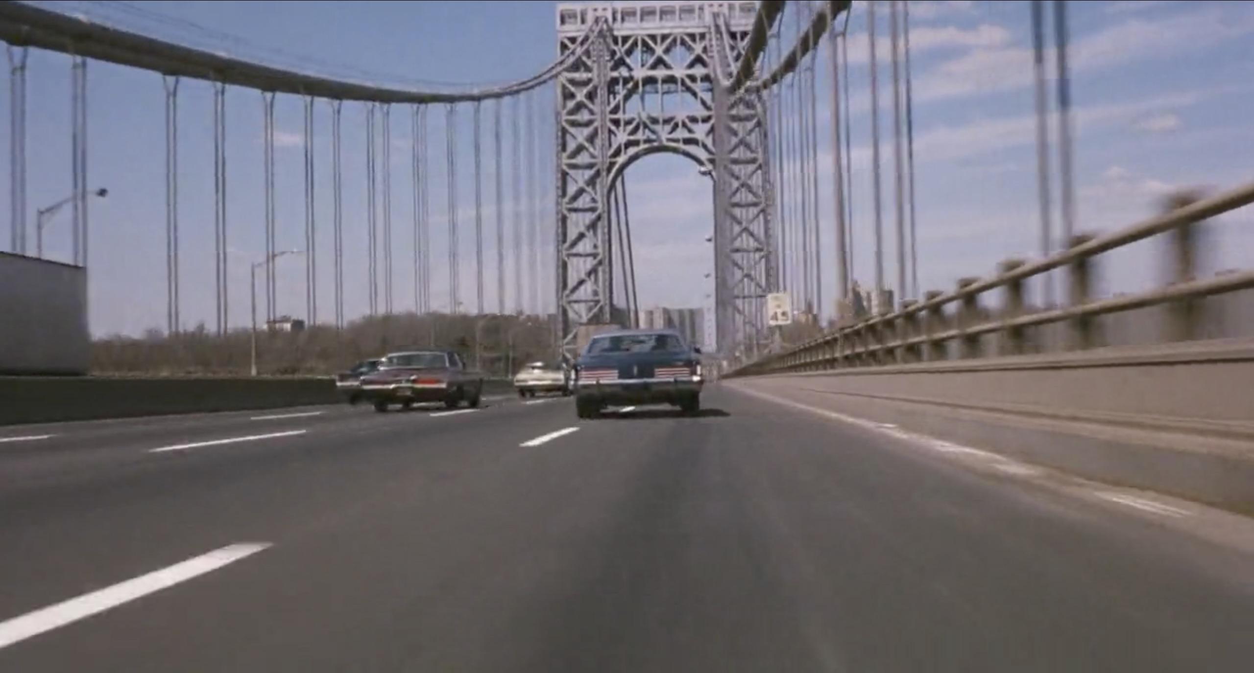 the seven ups car chase on bridge