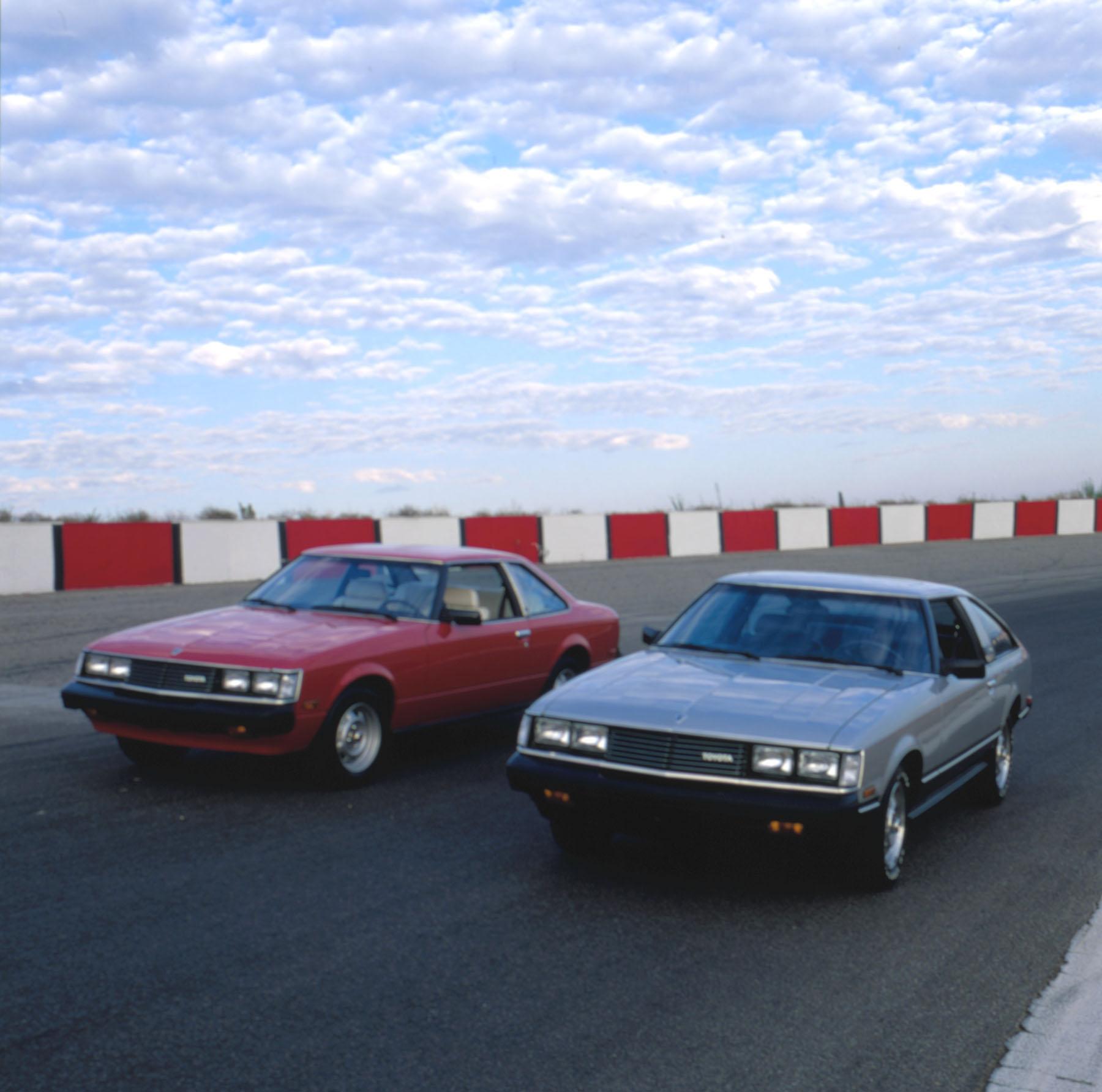 1981 Toyota Celica Supra On Track