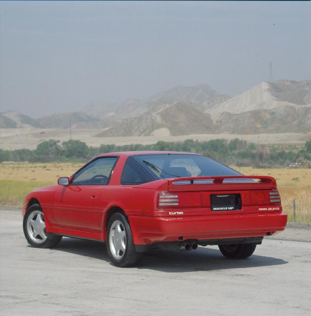 1992 Toyota Supra Rear 3/4