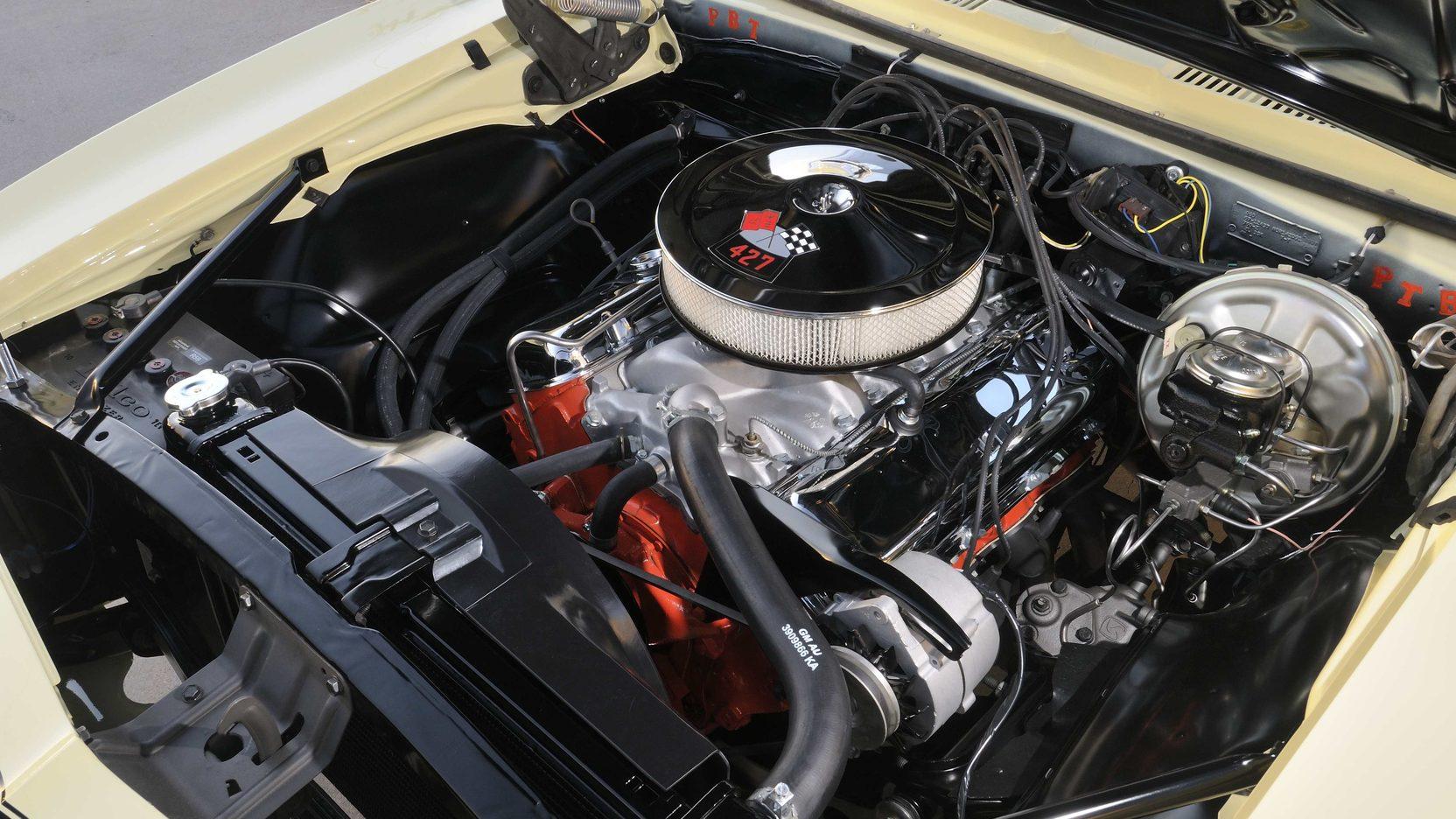 1967 Yenko Chevrolet Camaro Engine