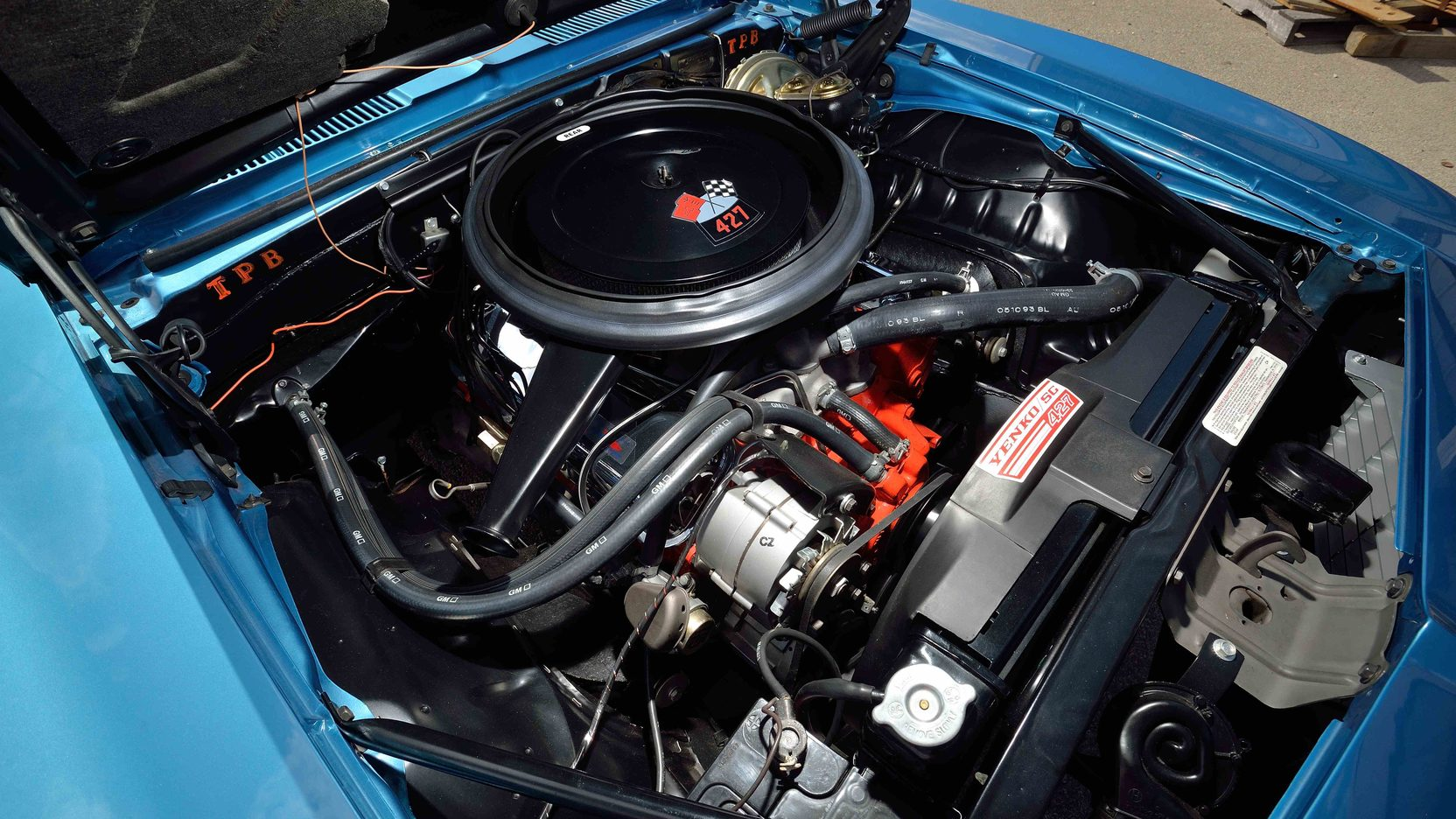 1969 Yenko Chevrolet Camaro Engine