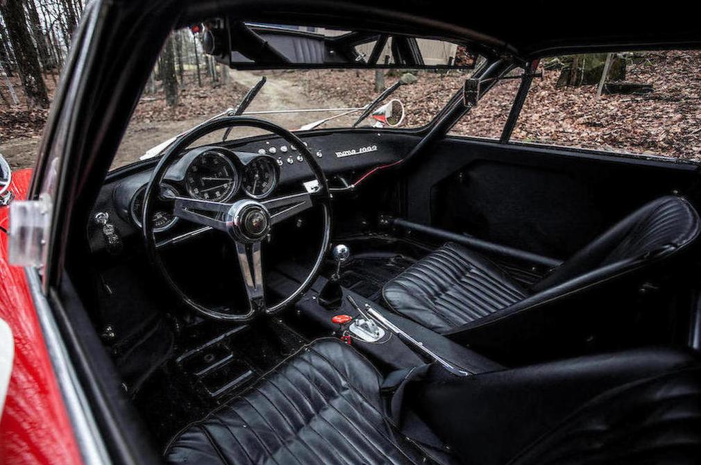 1963 Fiat-Abarth Monomille GT (with Bialbero upgrade) interior