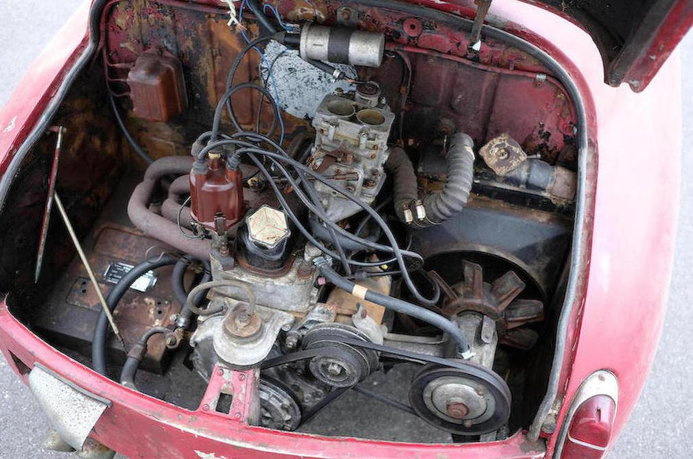 c.1959 Fiat-Abarth 750 Record Monza