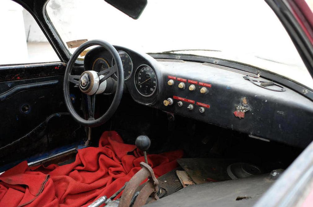c.1959 Fiat-Abarth 750 Record Monza Interior