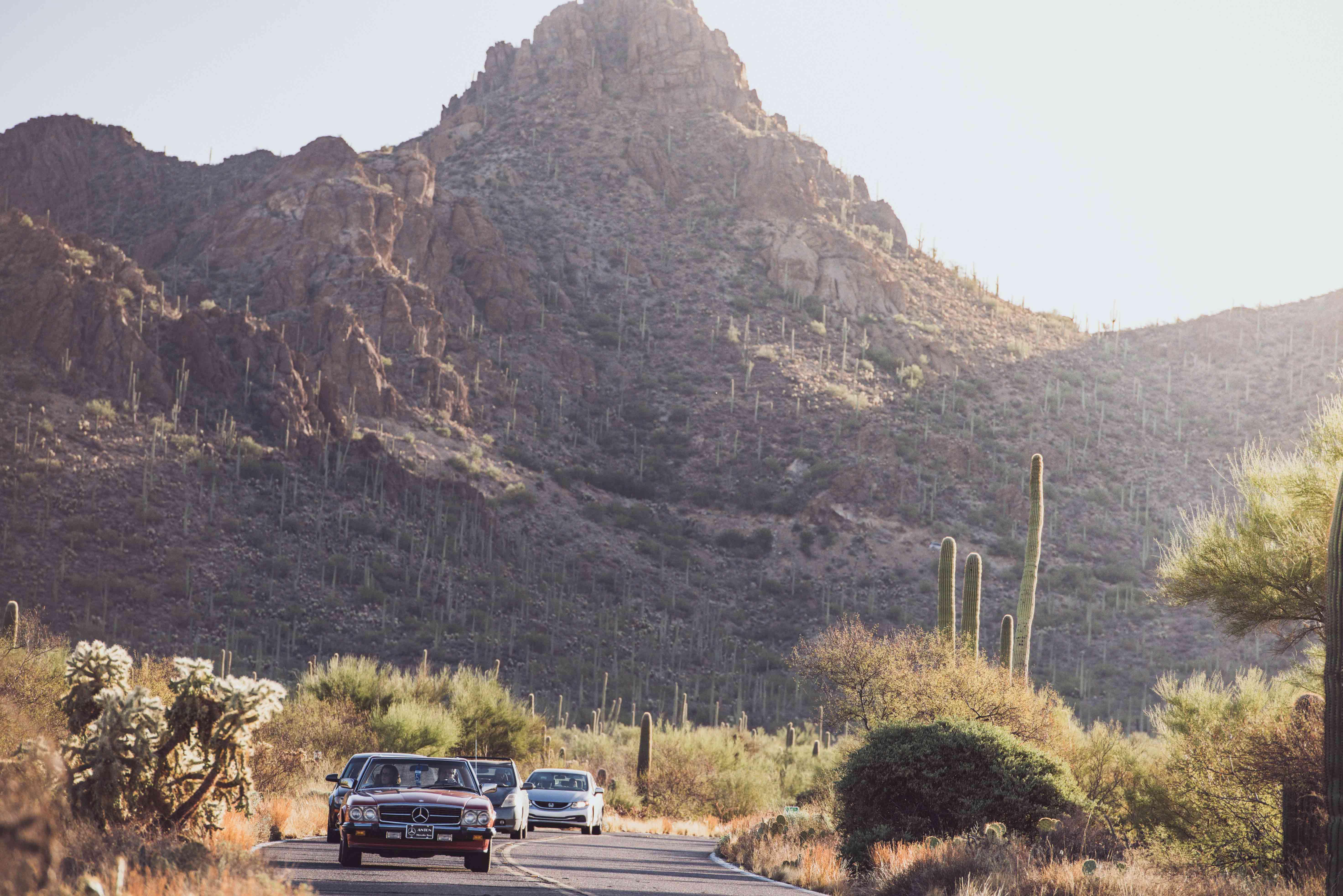 Arizona Road Trip Mercedes