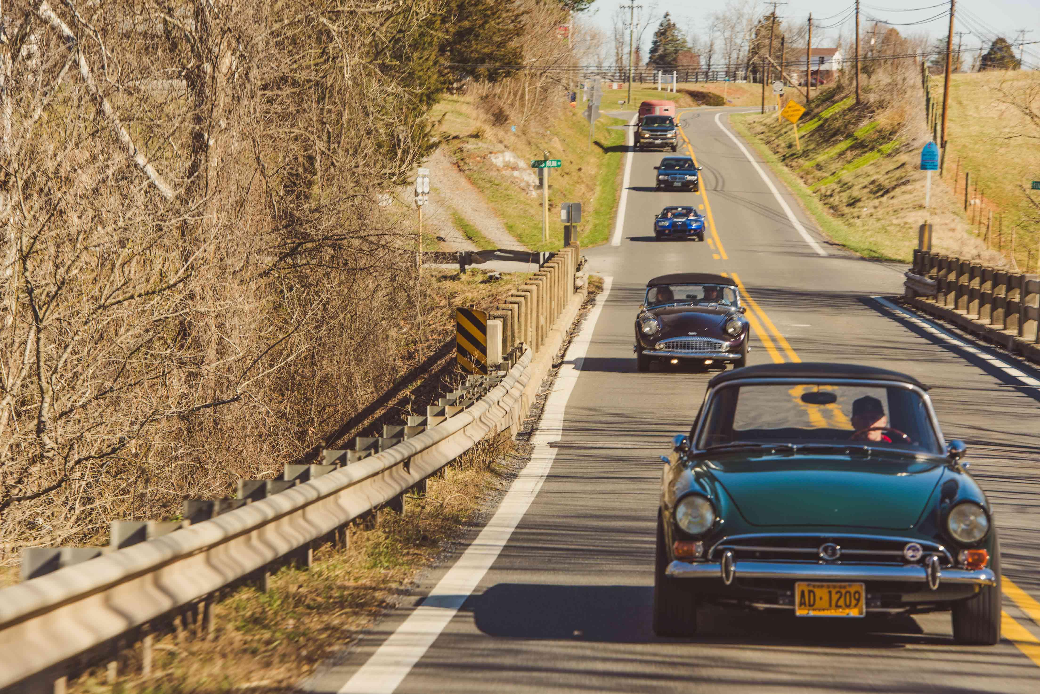 Amelia Island Road Trip hagerty touring series