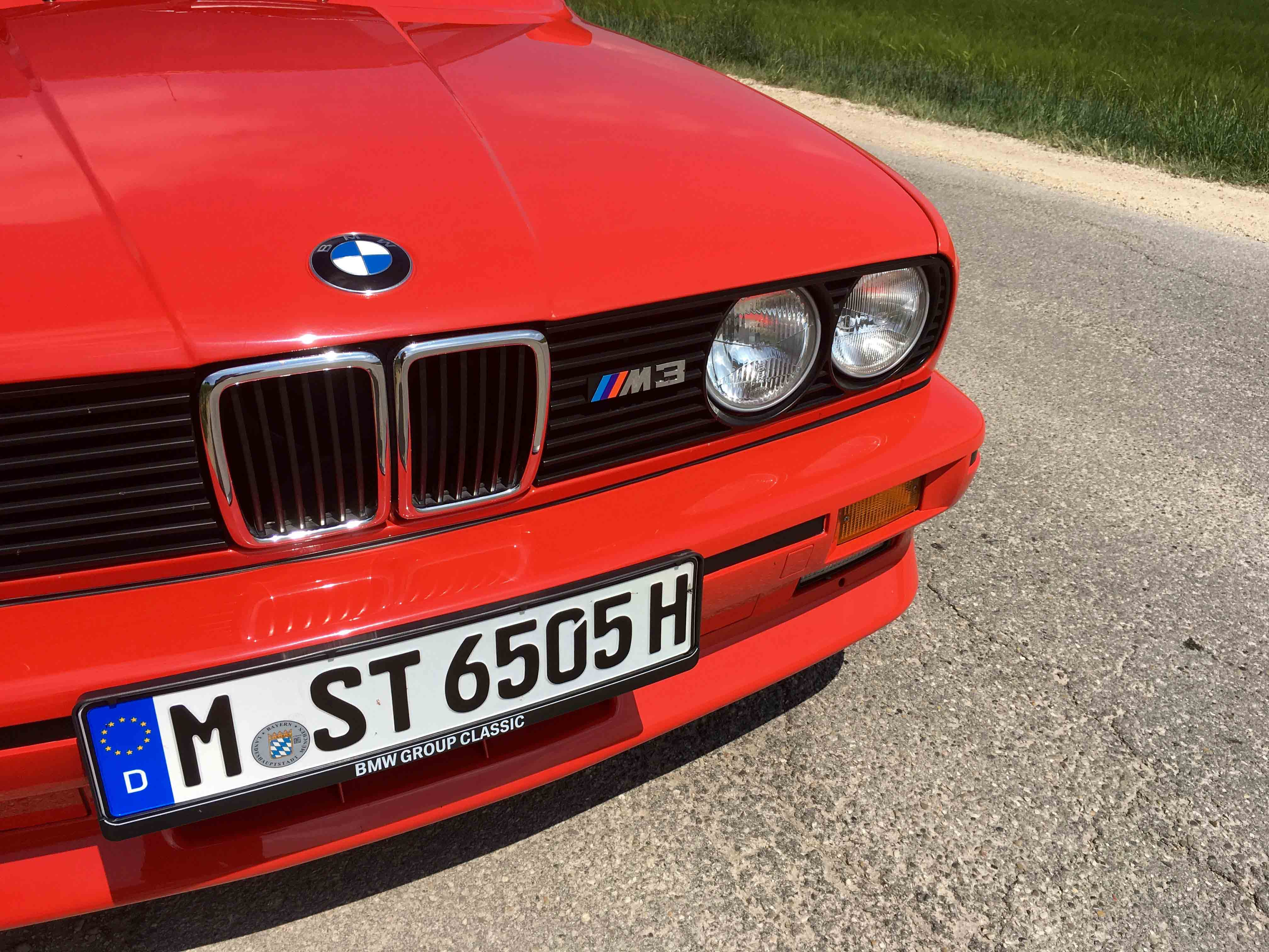 1987 BMW M3 Badge Grill