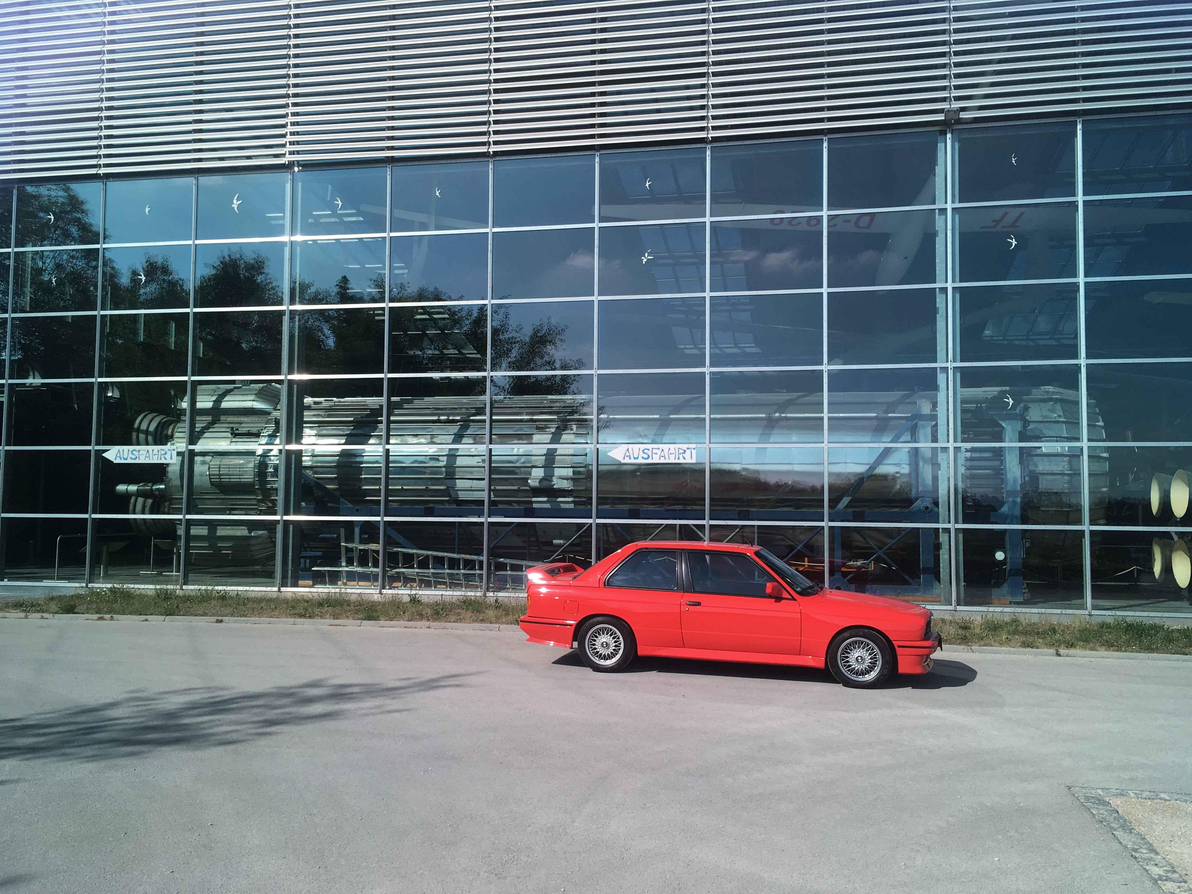 1987 BMW M3 Factory Glass Window