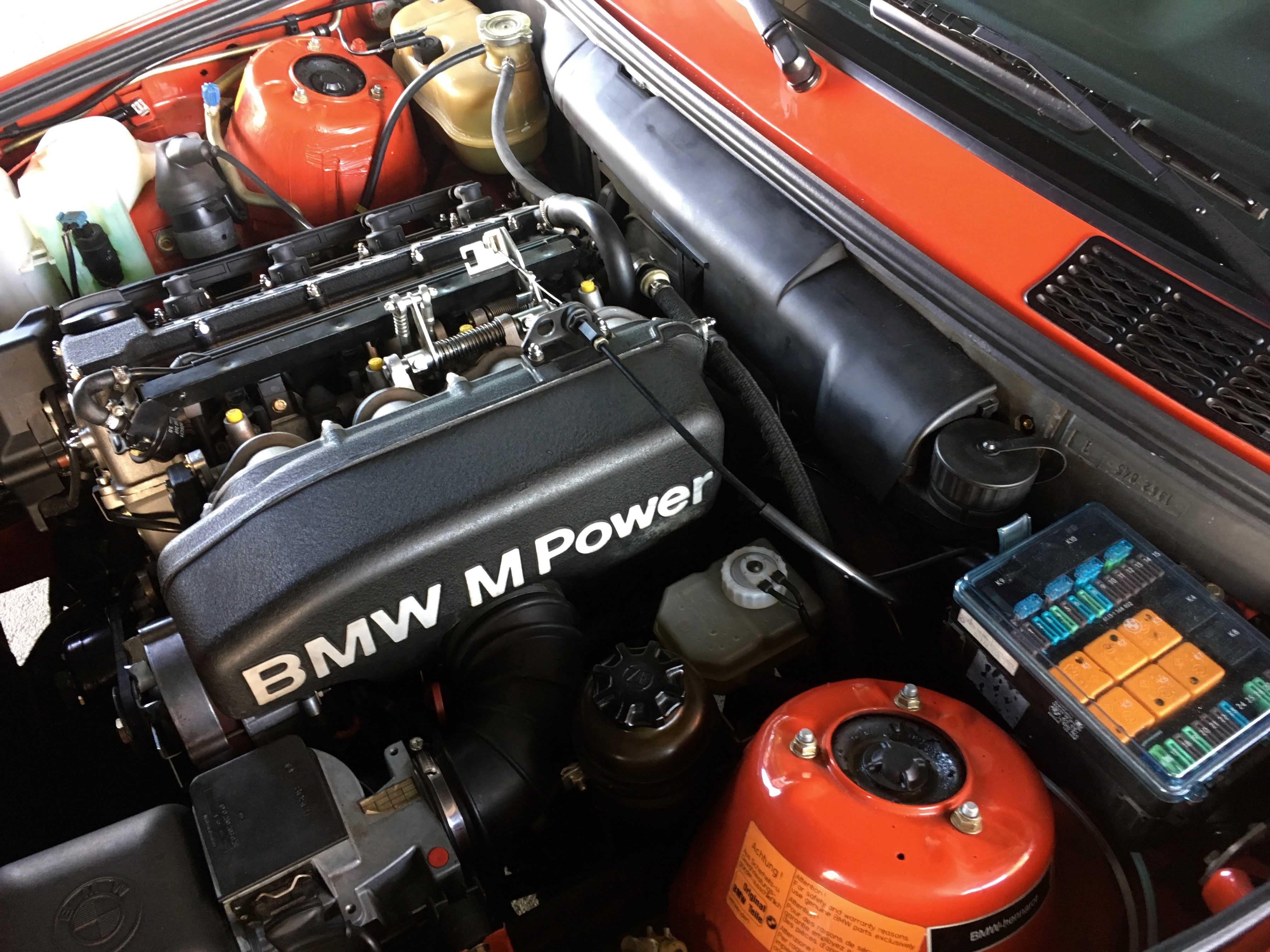 1987 BMW M3 Engine