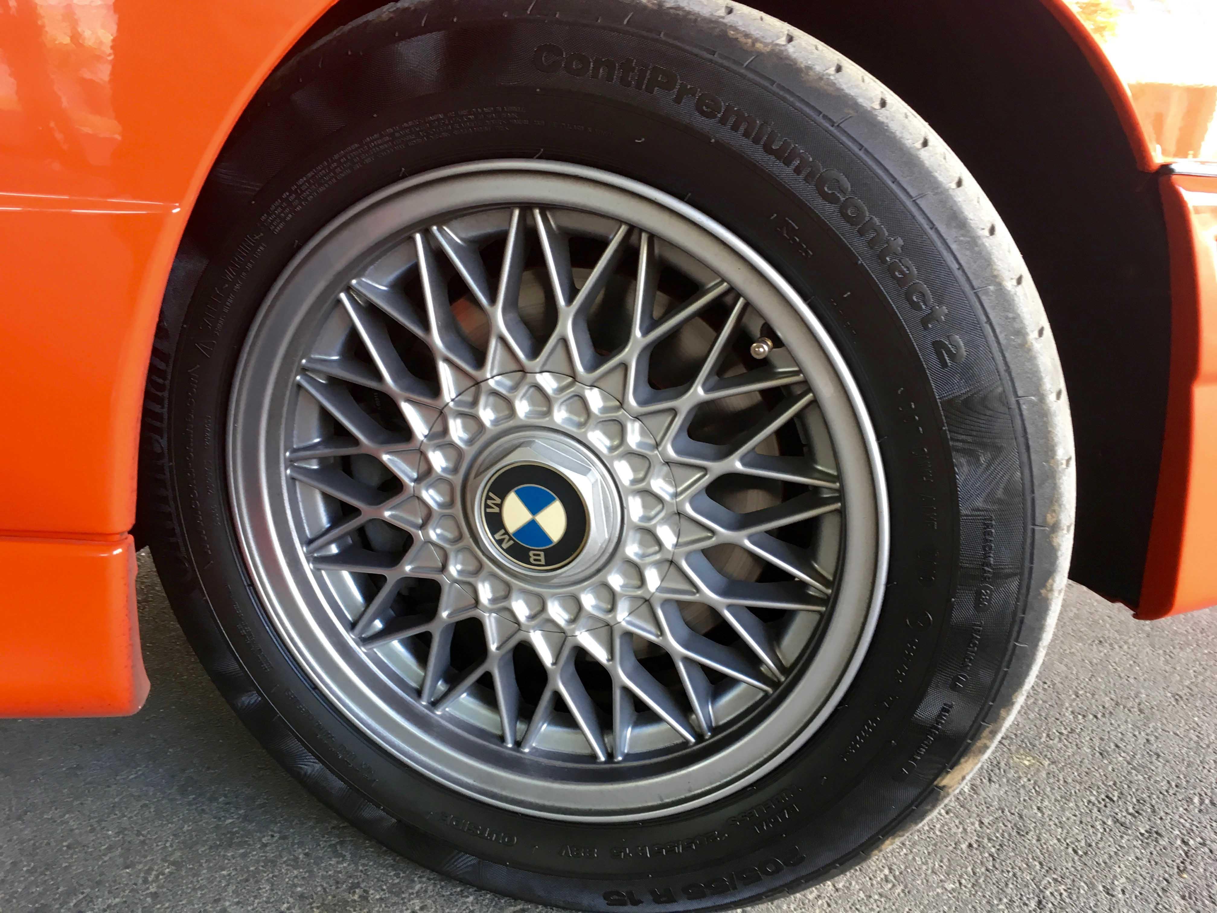 1987 BMW M3 Wheel