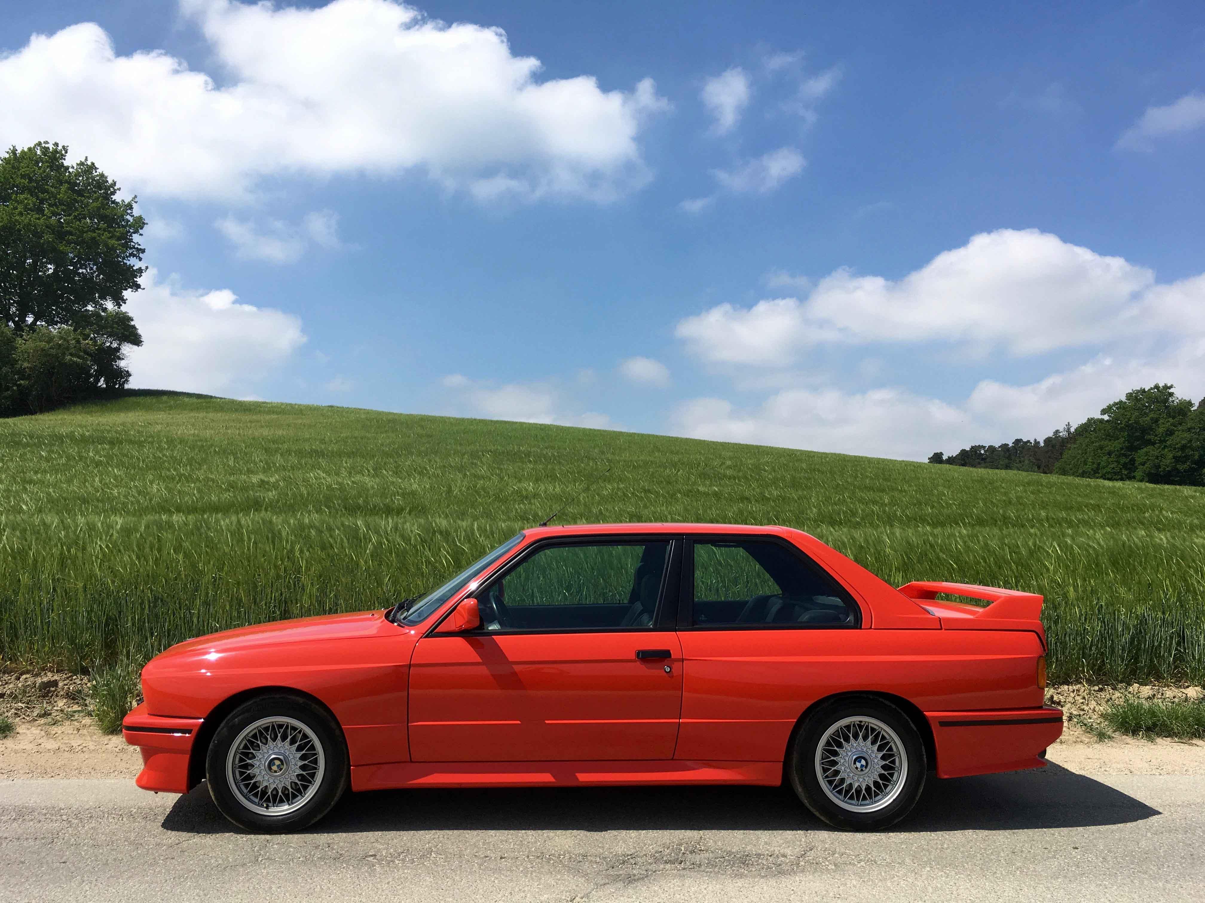 1987 BMW M3 side profile