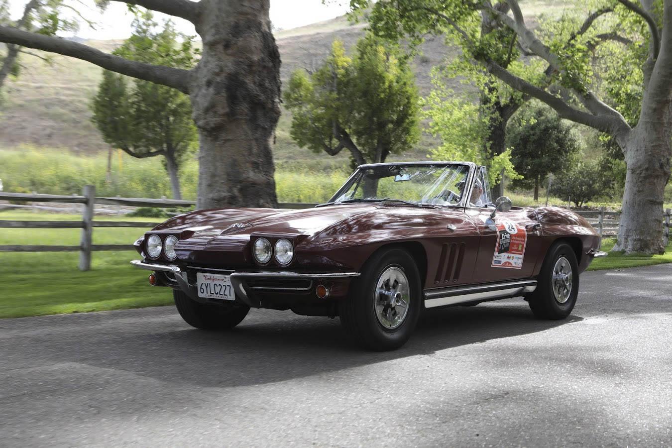 1965 Chevrolet Corvette convertible front 3/4