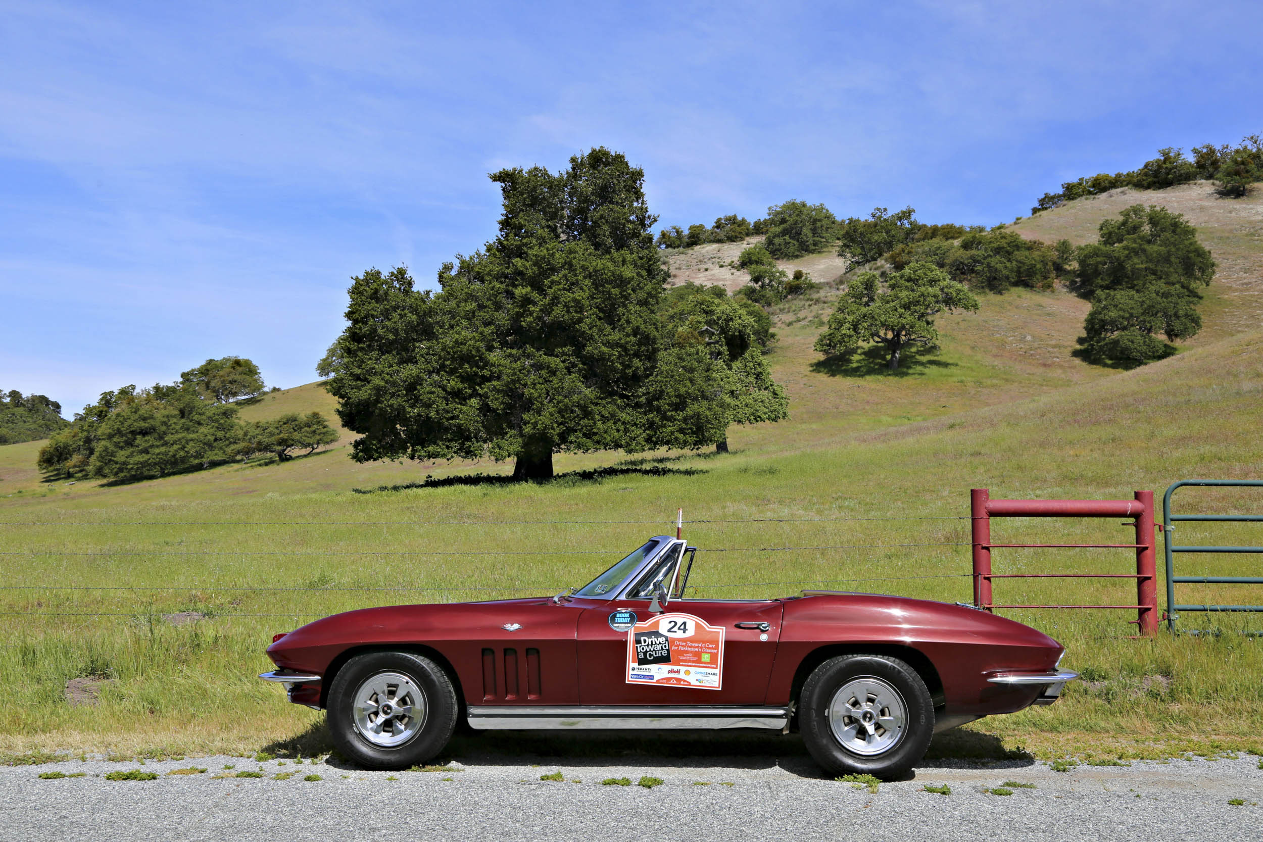 1965 Chevrolet Corvette farmland profile