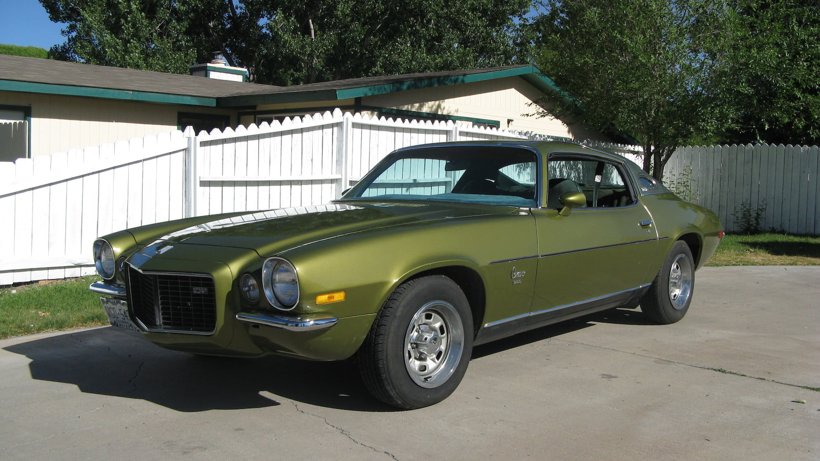 1973 Chevrolet Camaro LT Driver 3/4