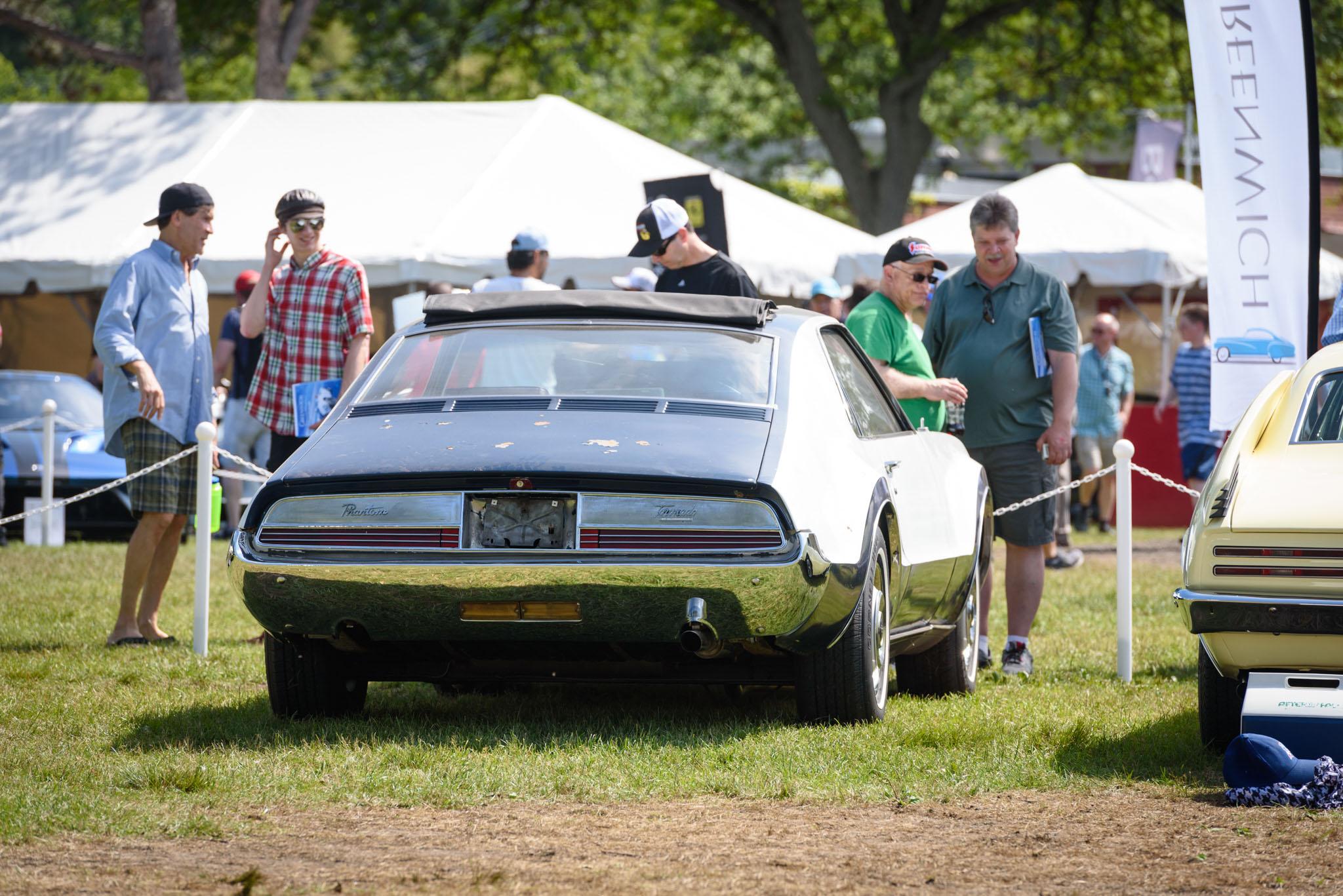 1966 Oldsmobile Toronado Fitch Phantom rear 3/4