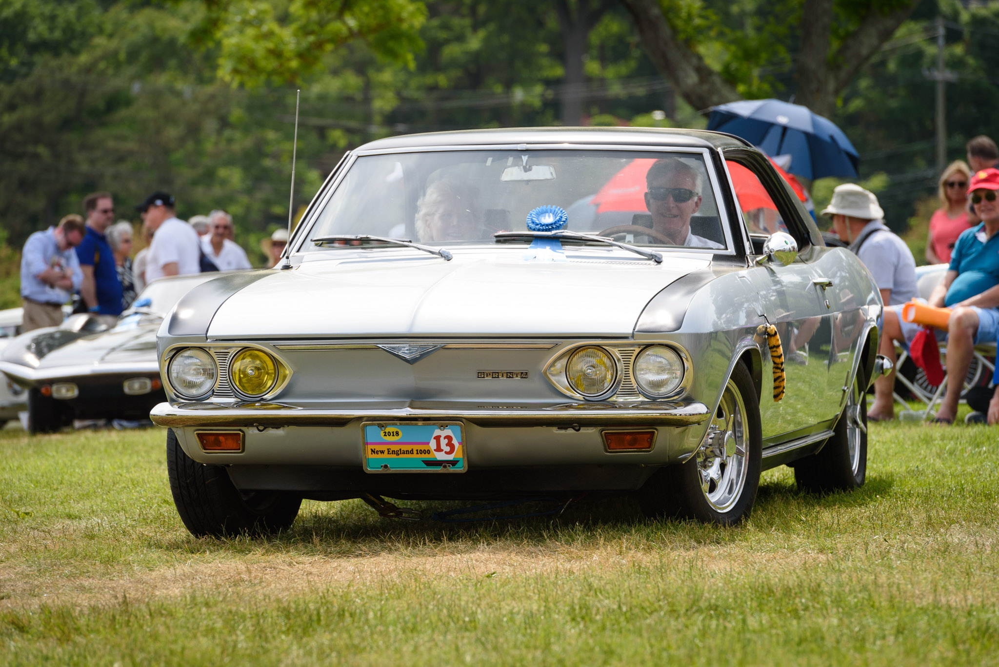 1966 Corvair Corsa Fitch Sprint front 3/4