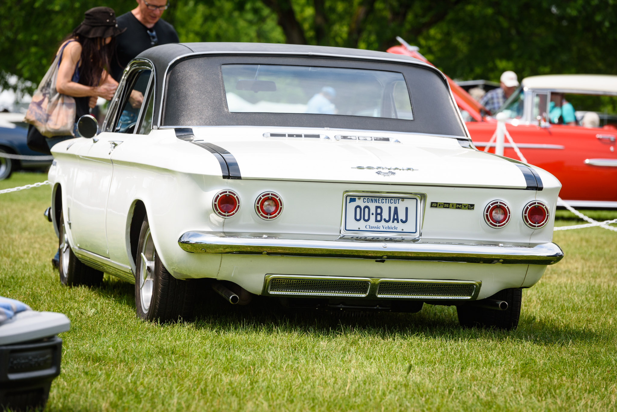 1962 Corvair Monza Fitch Sprint rear 3/4