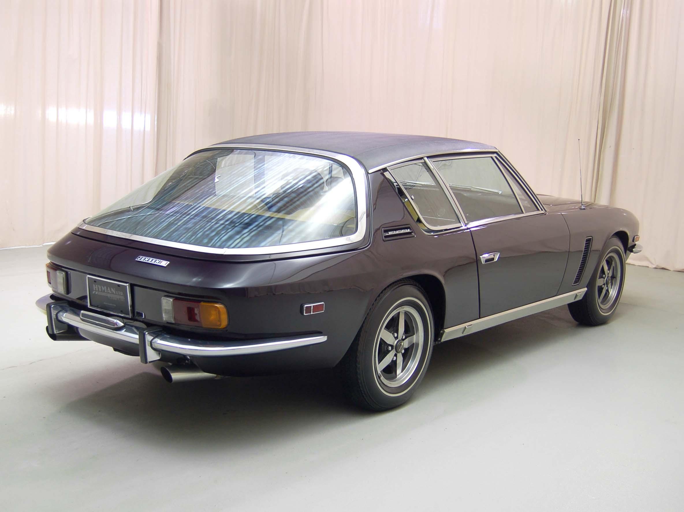 1972 Jensen Interceptor rear 3/4