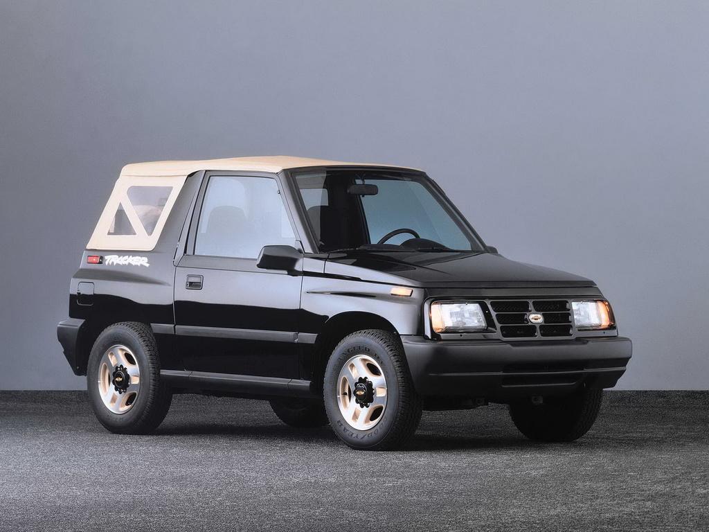 Chevrolet Tracker front 3/4