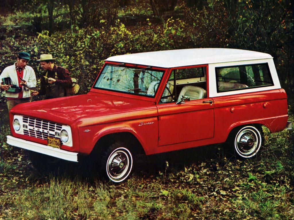 Ford Bronco Advertisement