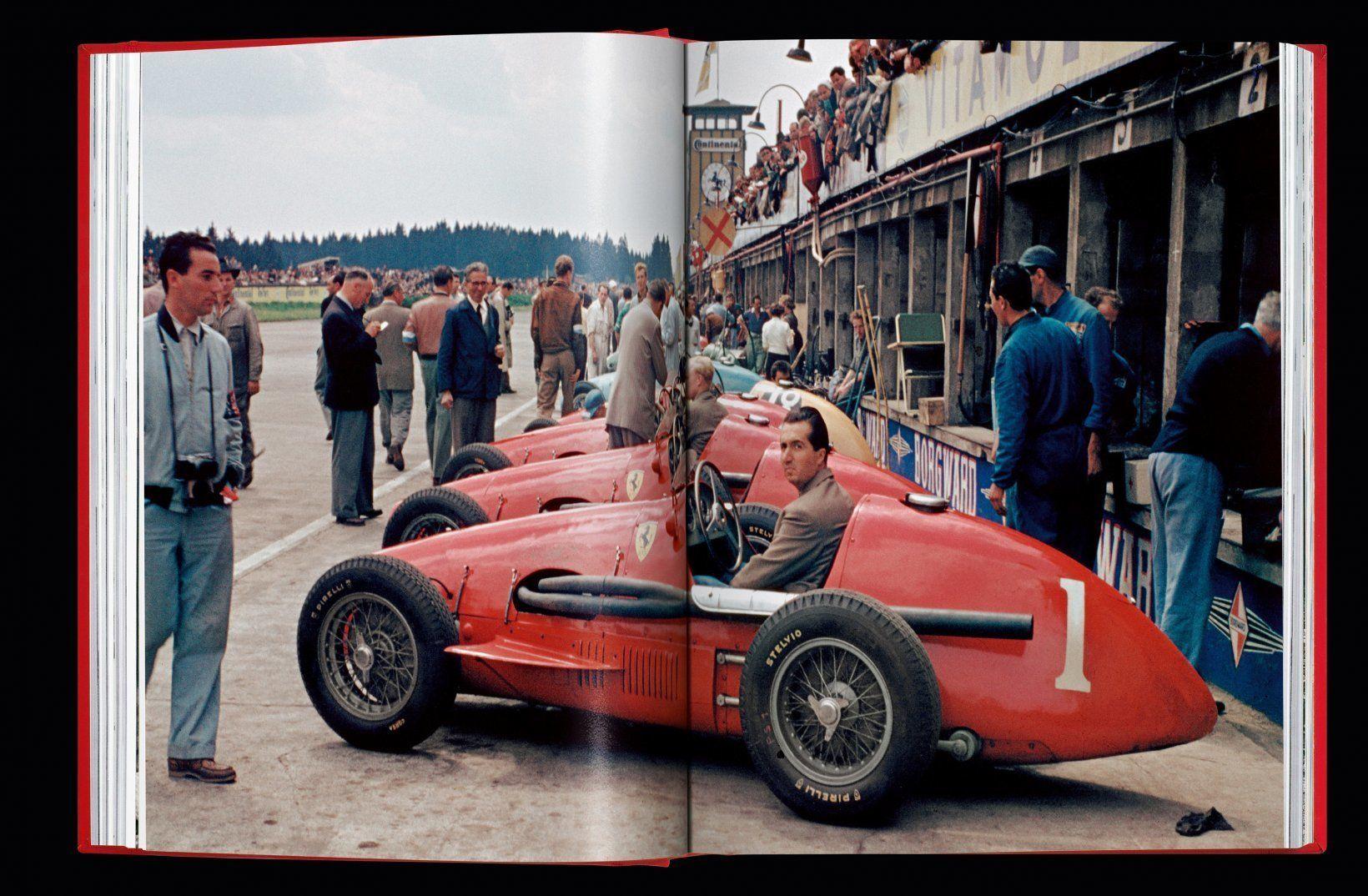 Ferrari Book race car picture