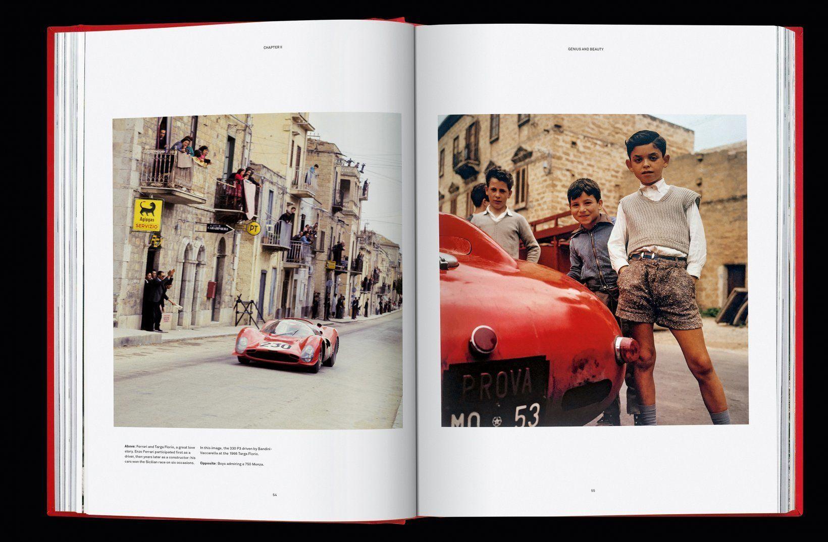 Ferrari Book open pages