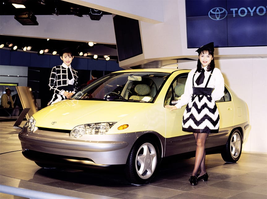 1995 Toyota Prius Concept auto show