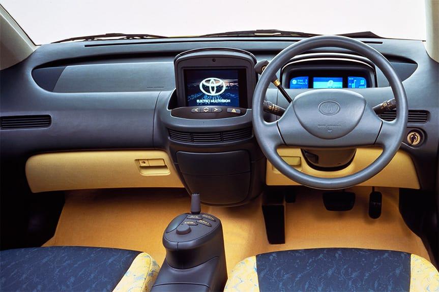 1995 Toyota Prius Concept interior