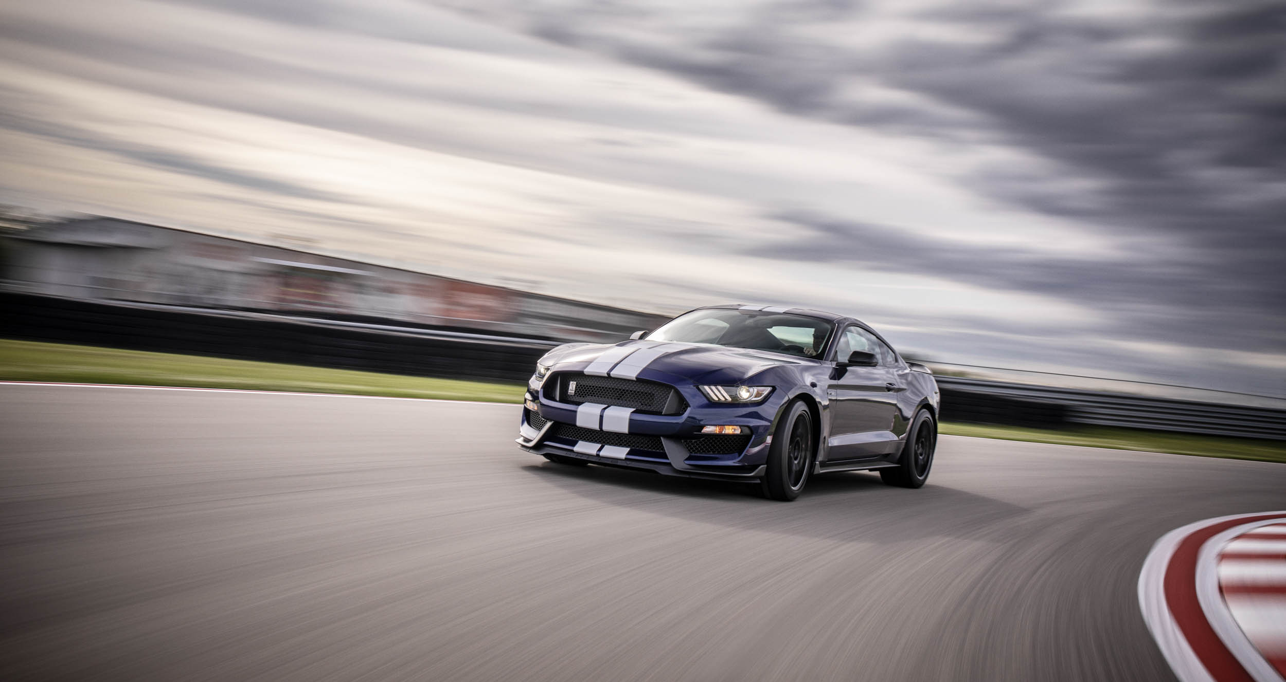 2019 Shelby GT350 on the track