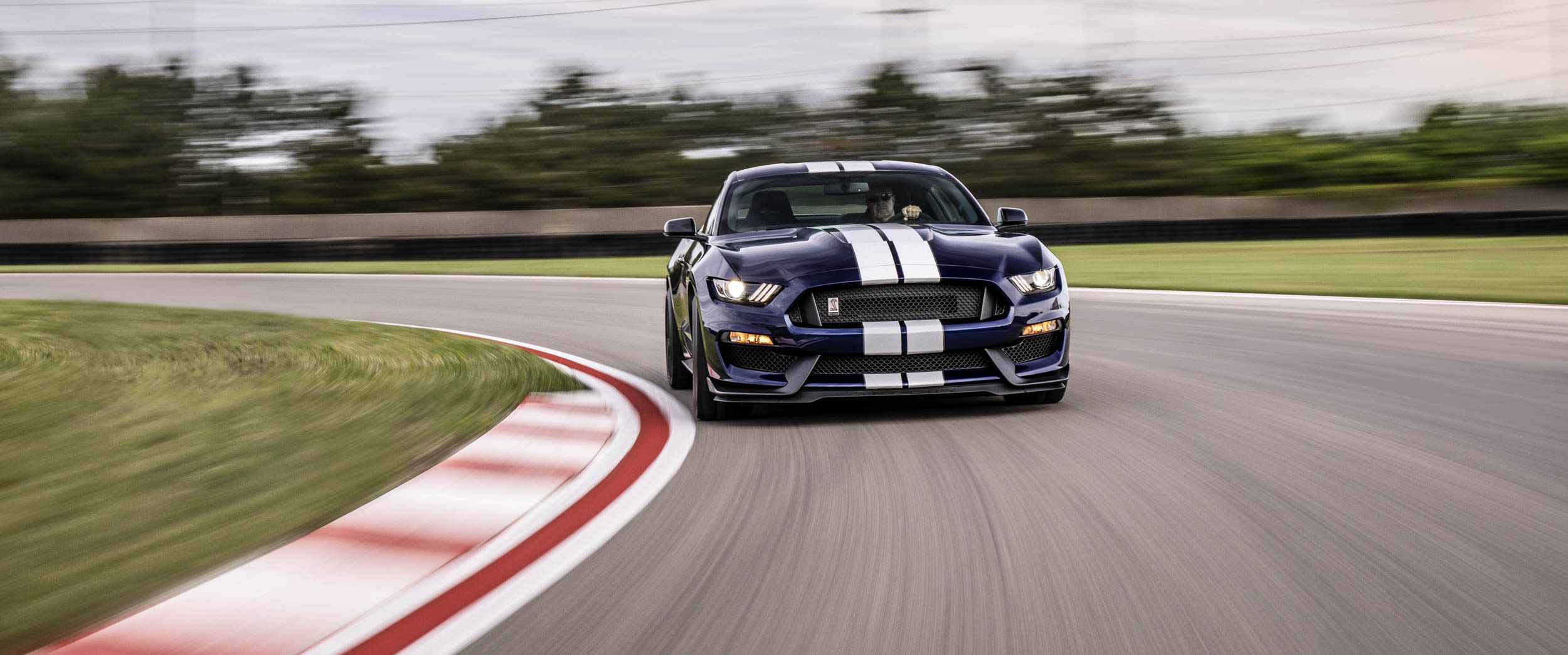New 2019 Shelby GT350 front