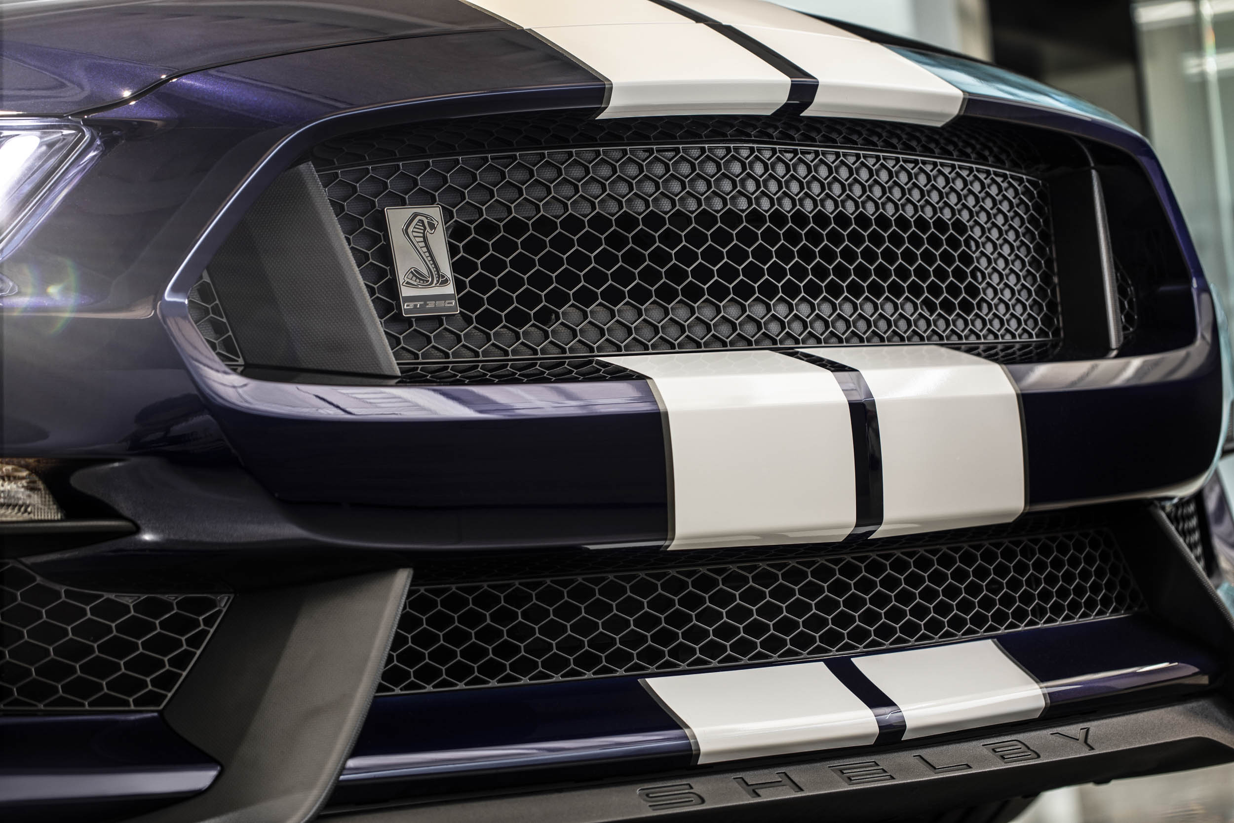 2019 Shelby GT350 grille detail