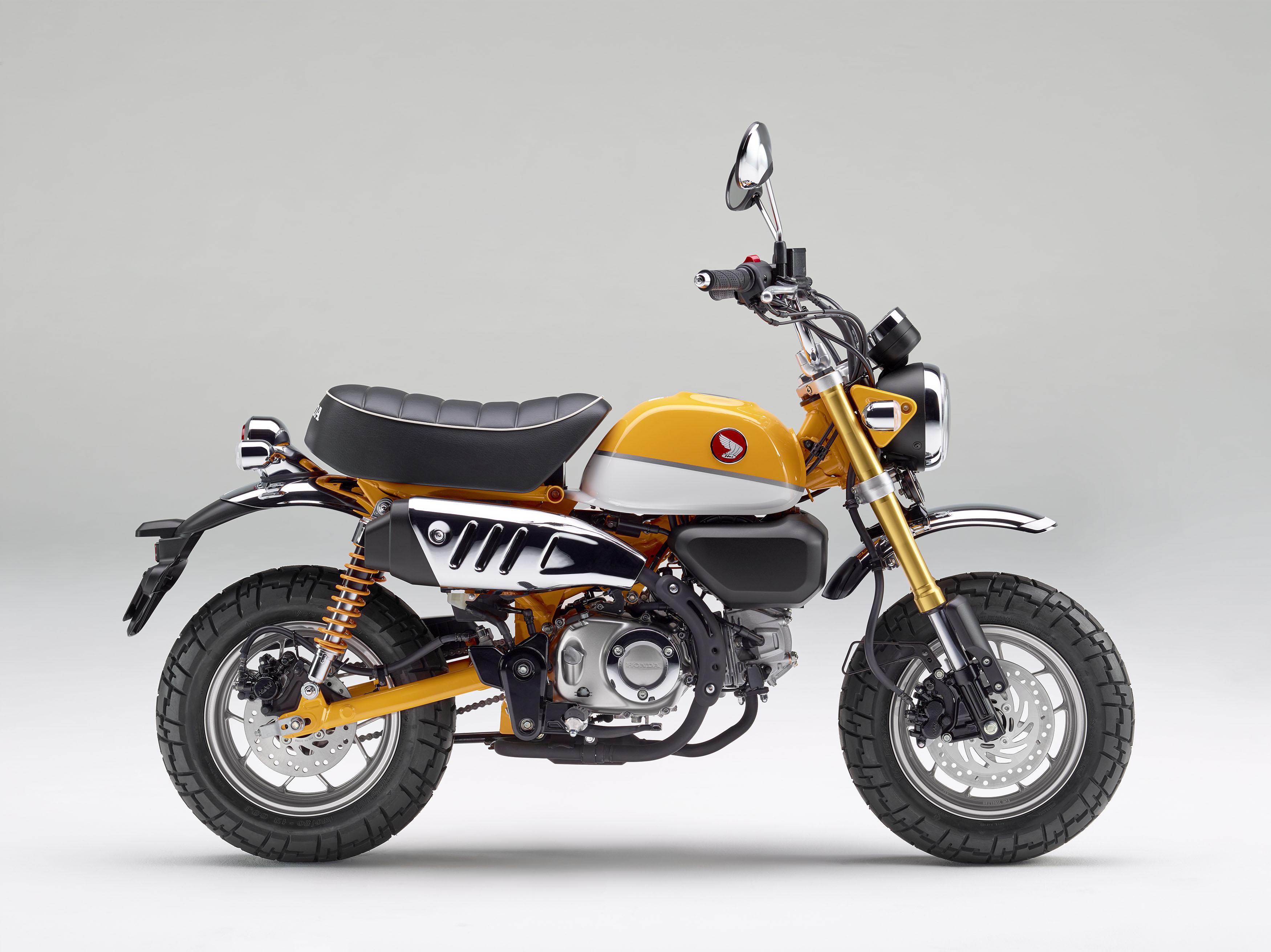 2019 Honda Monkey banana yellow