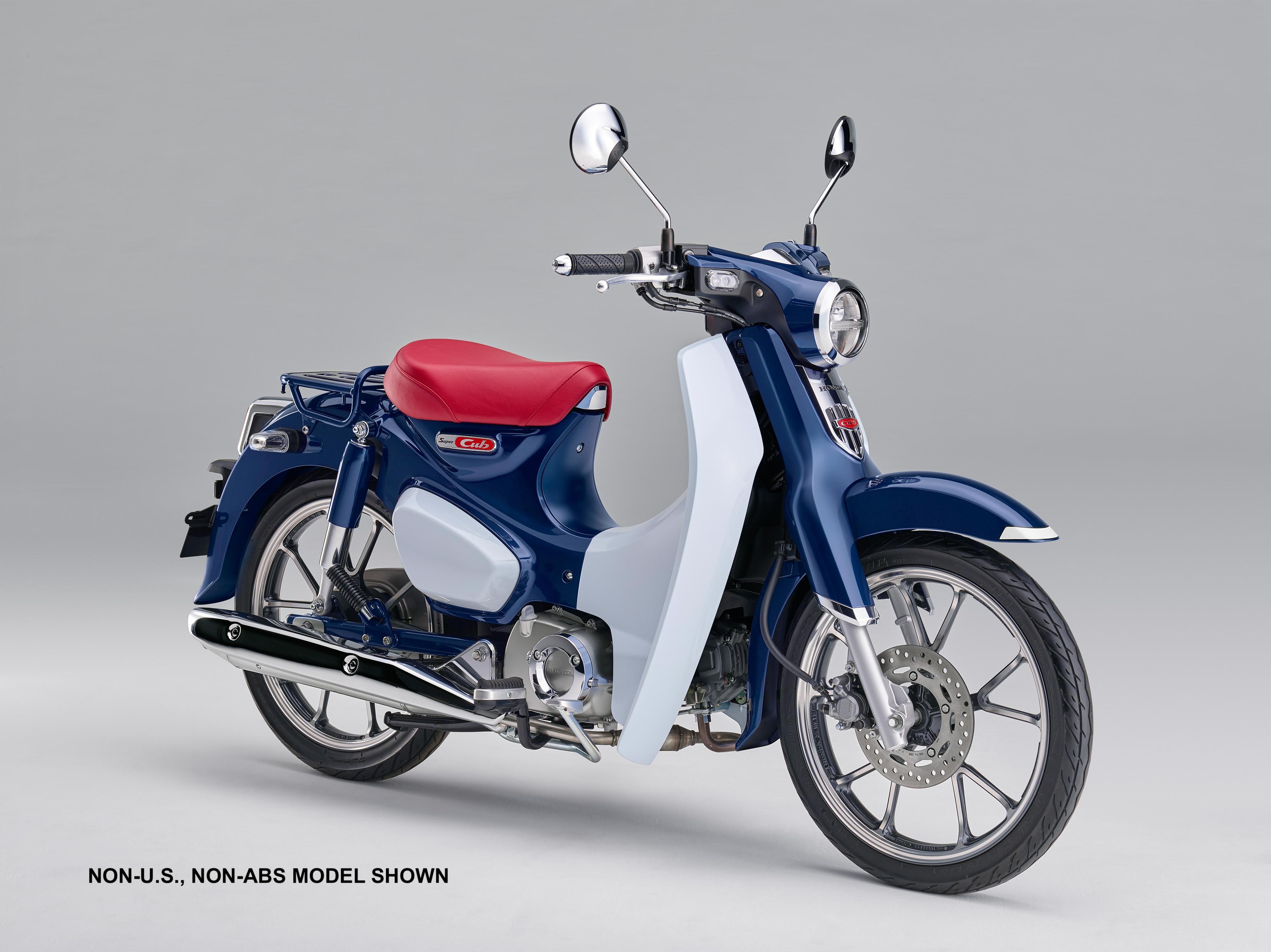 2019 Honda Super Cub side view