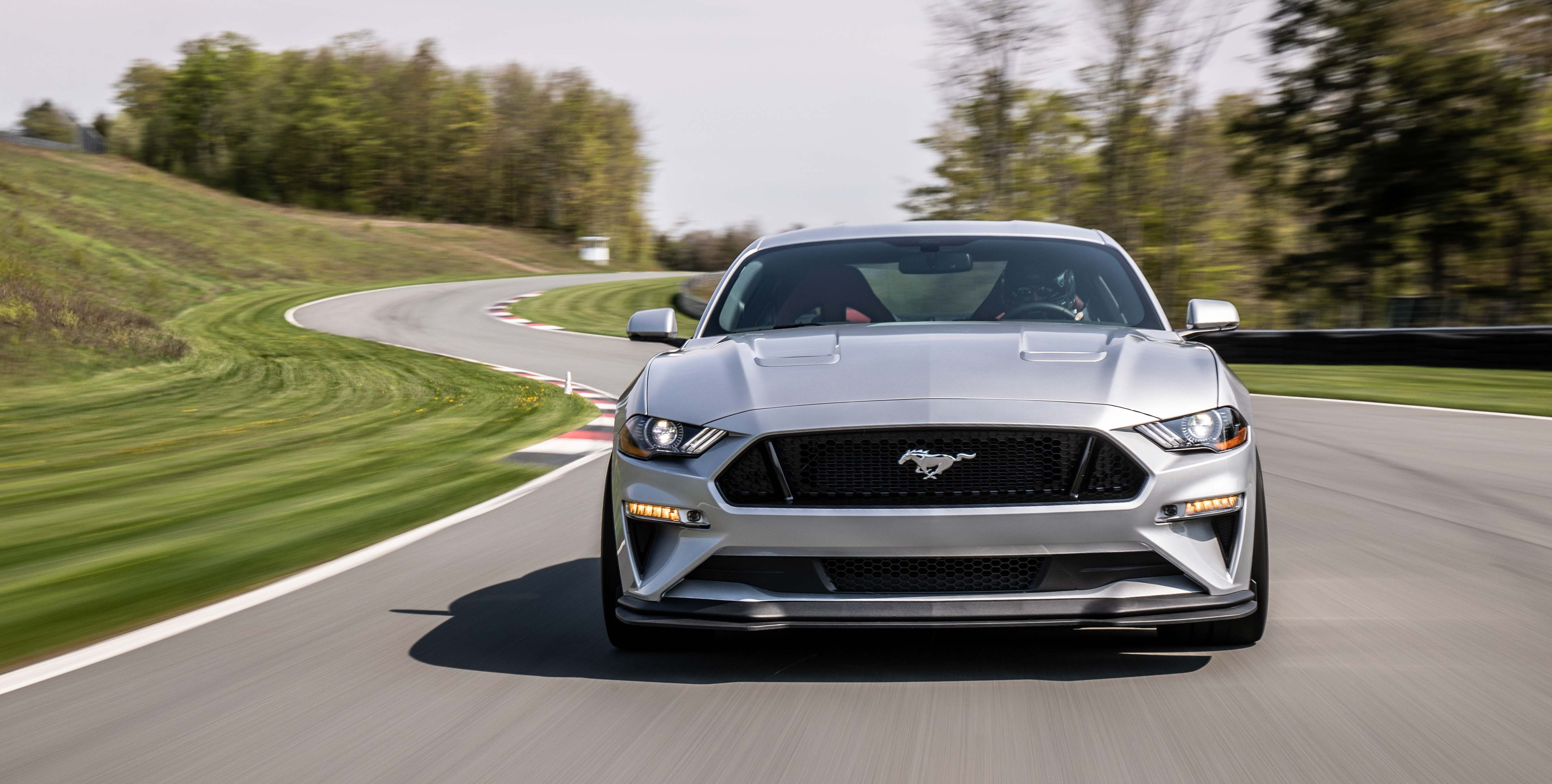 2018 Ford Mustang GT Performance Pack 2 on track front