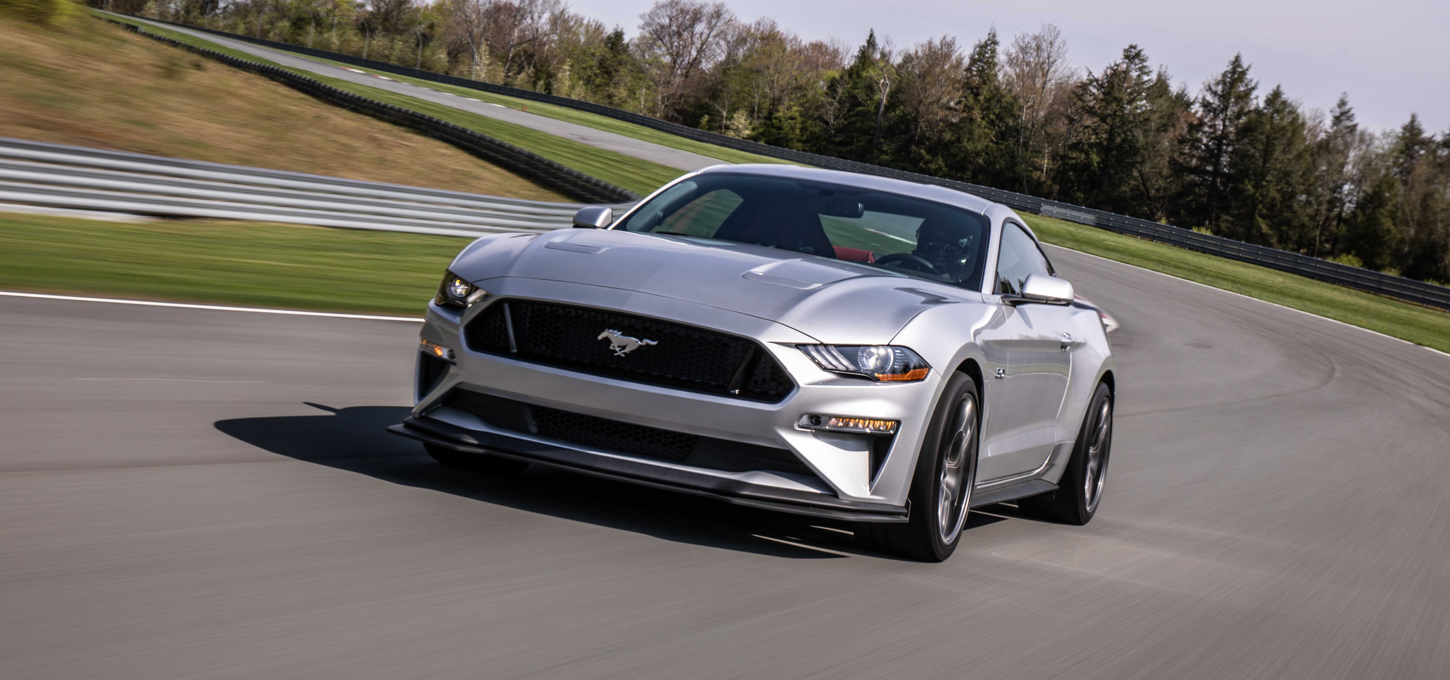 2018 Ford Mustang GT Performance Pack 2 On drack Driver's front