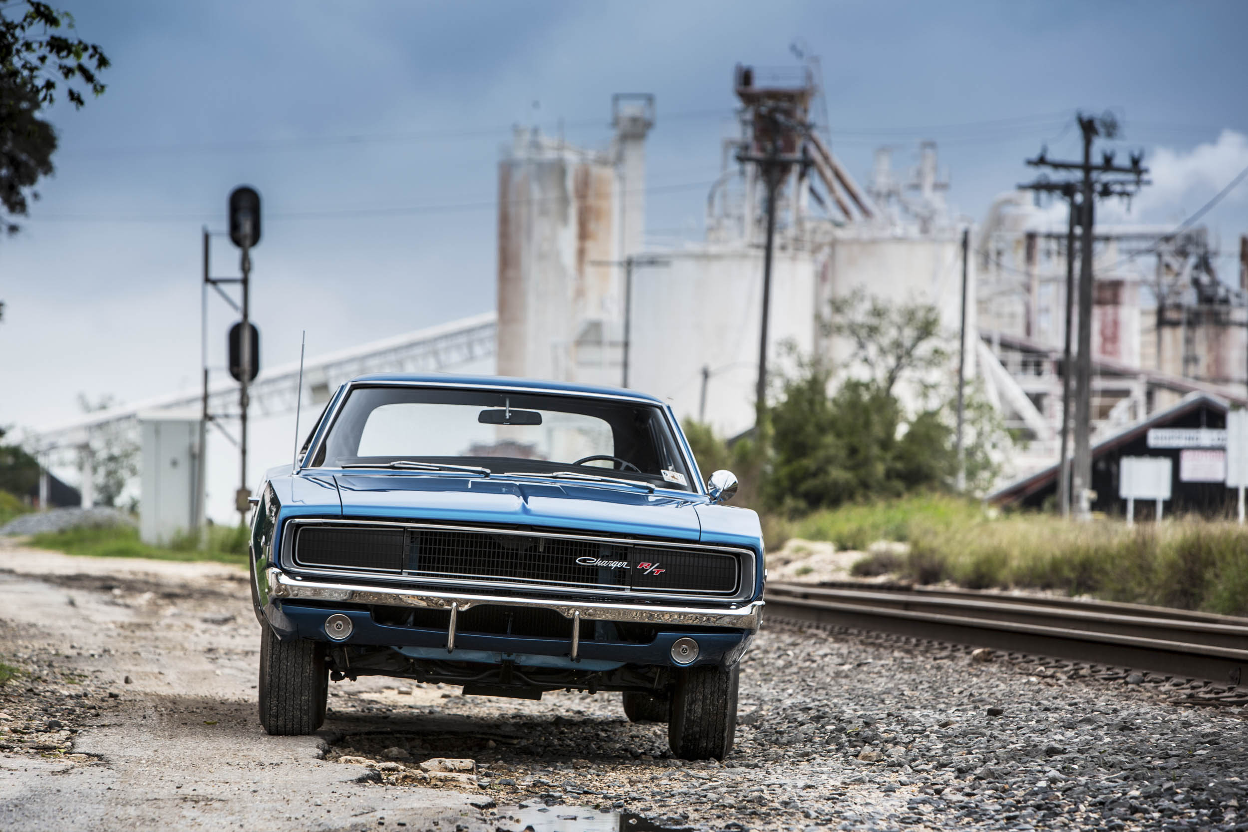 1968 Dodge Charger R/T front
